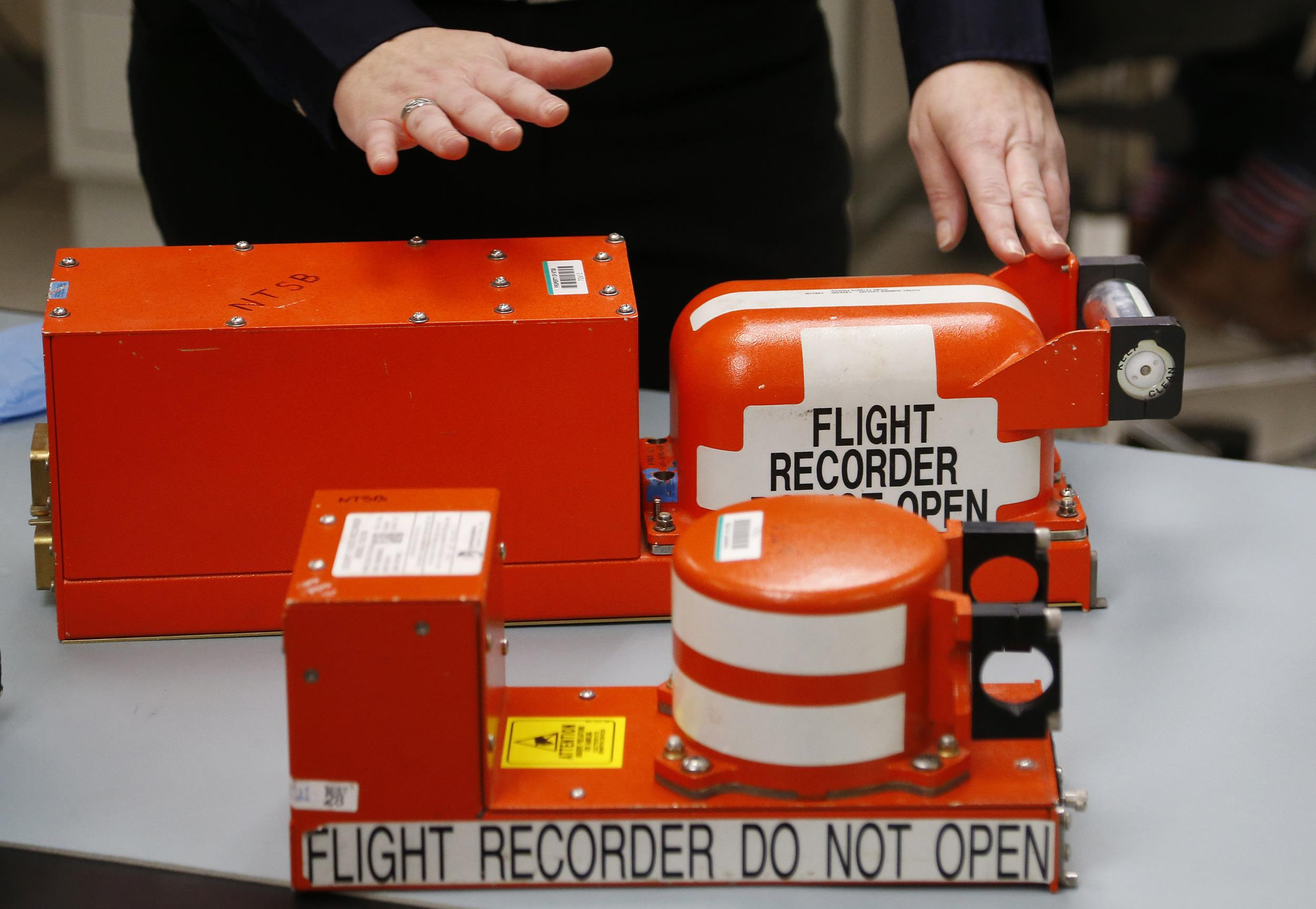 Image:  A Flight Data recorder