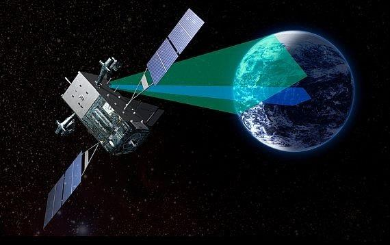 Image: SBIRS satellite