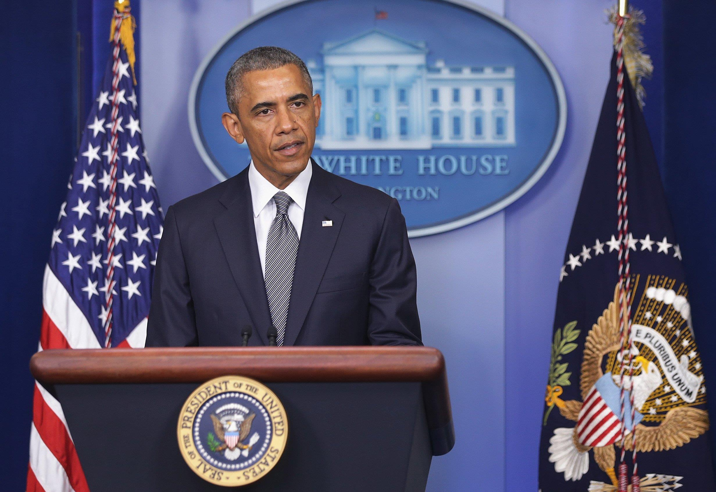Image: President Obama Delivers Statement On Situation In Ukraine