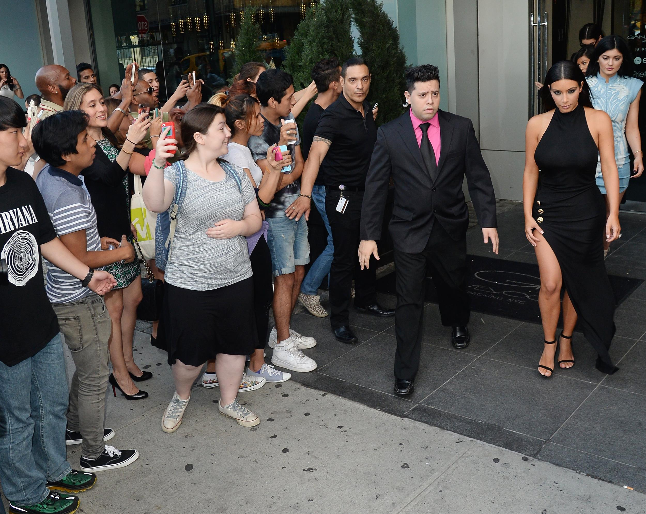 Image: Kim Kardashian is seen in Soho