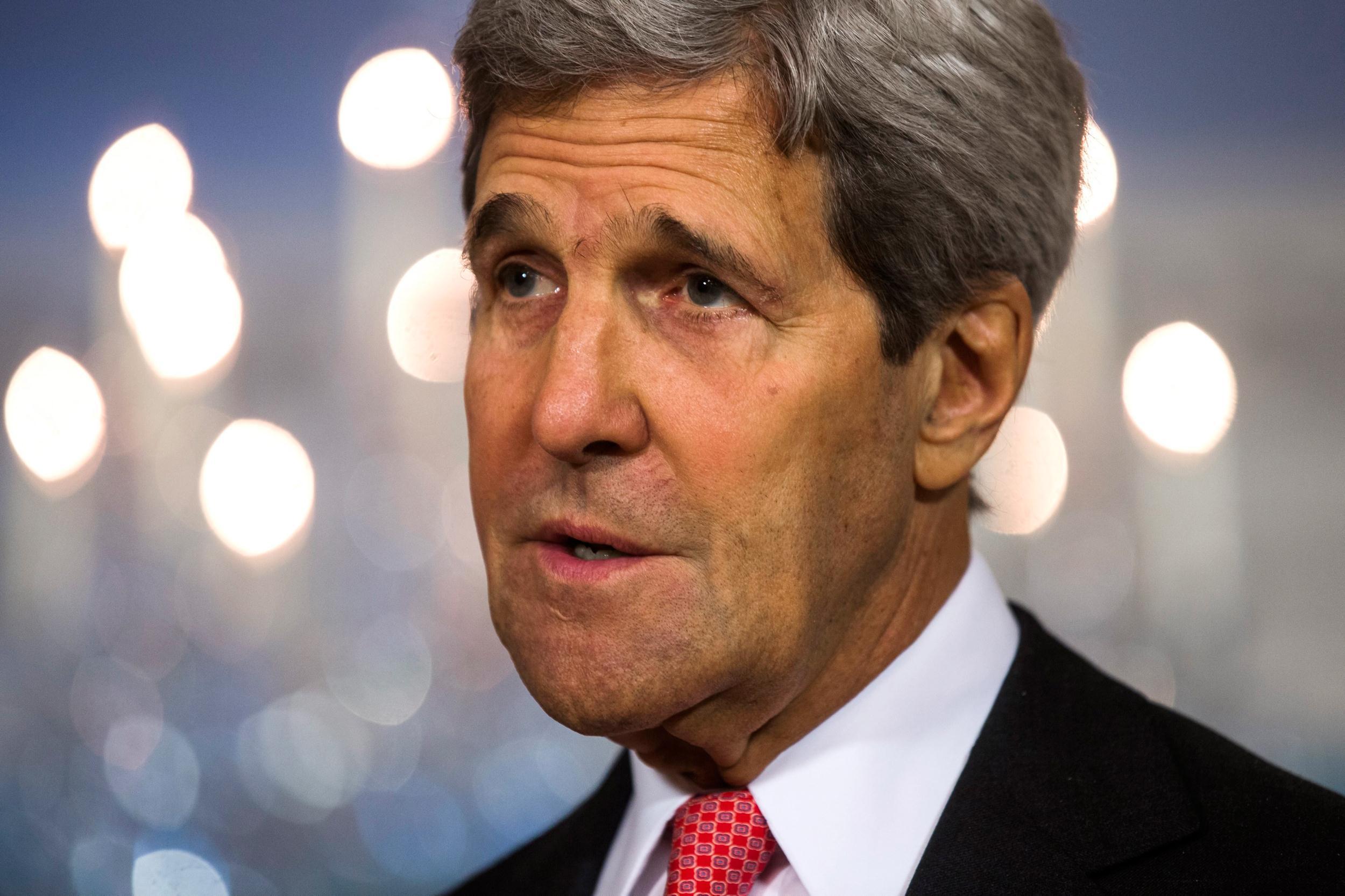 Image: US Secretary of State John Kerry