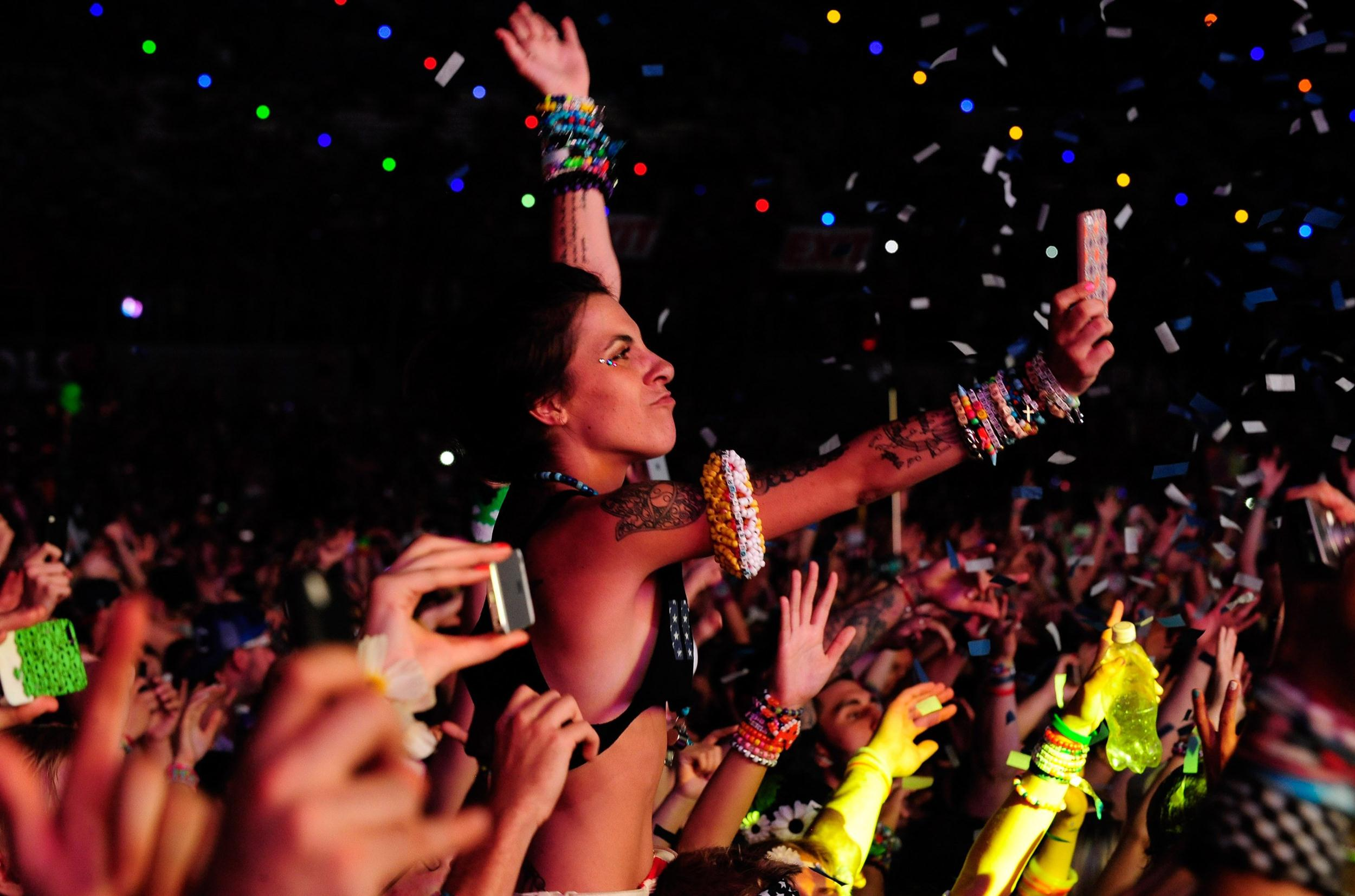 Image: 18th Annual Electric Daisy Carnival - Day 3