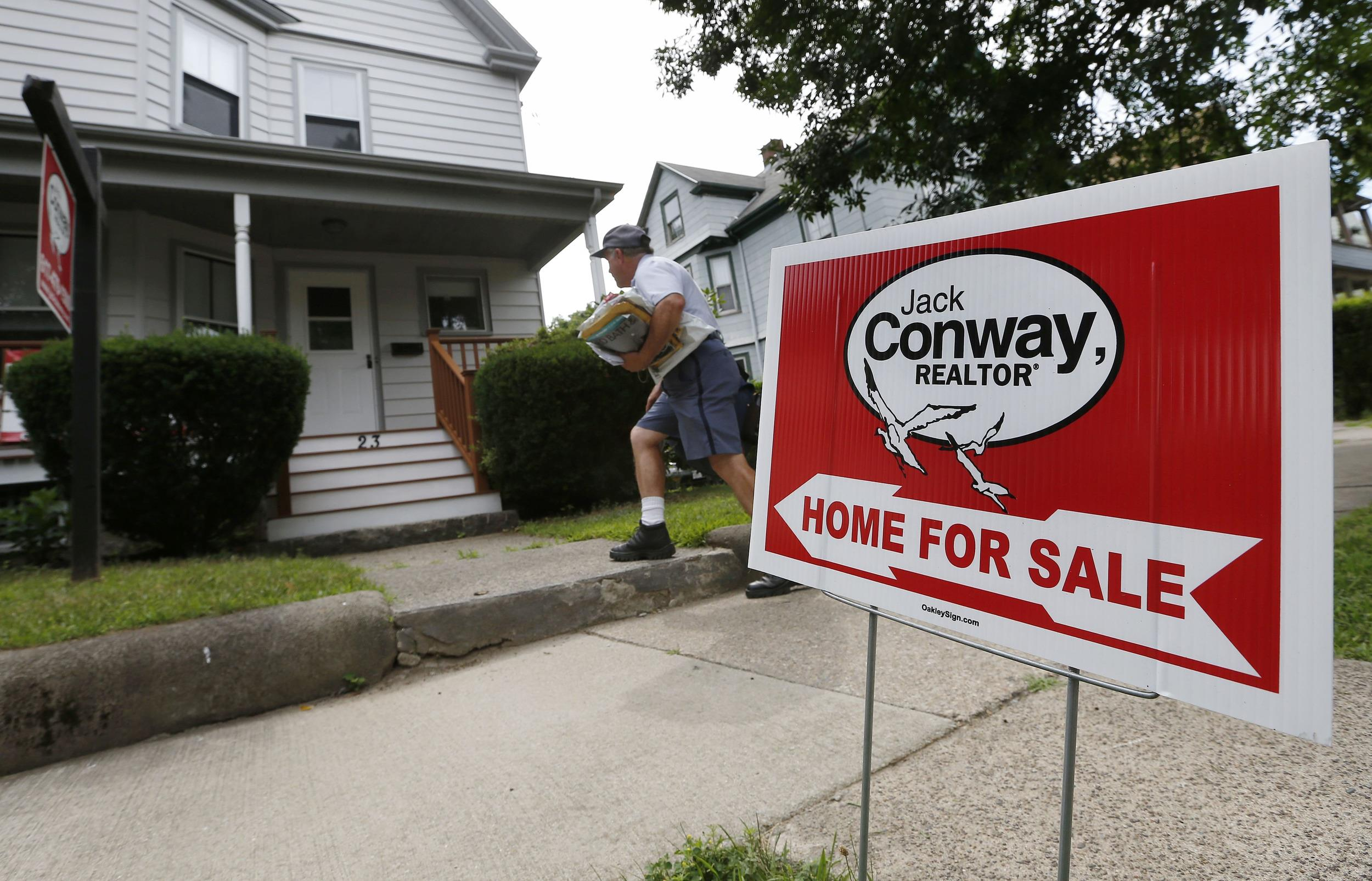 Home resales rose in June to their fastest pace in eight months, a signal that the housing market may be pulling out of a slump.
