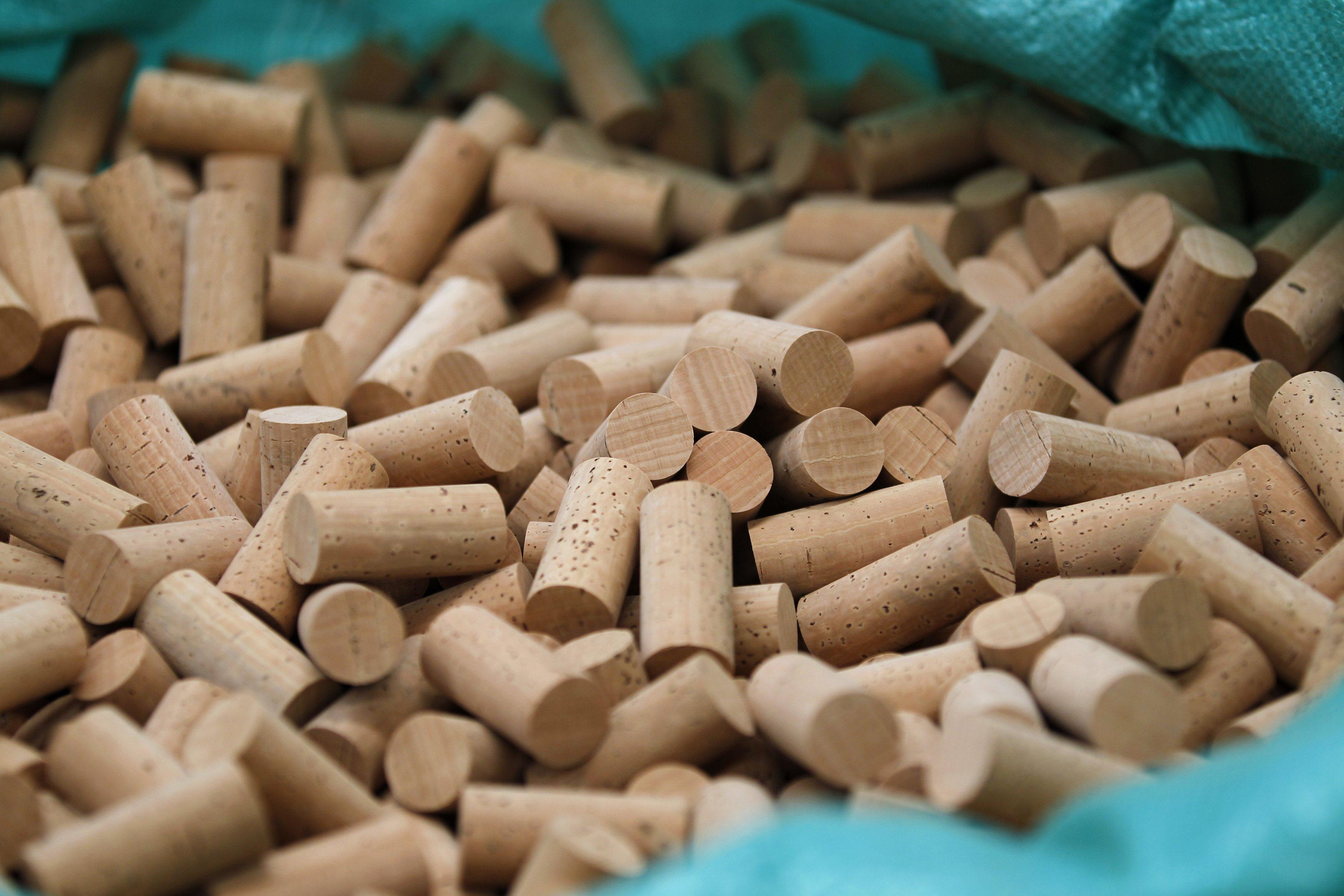 Image: Wine corks
