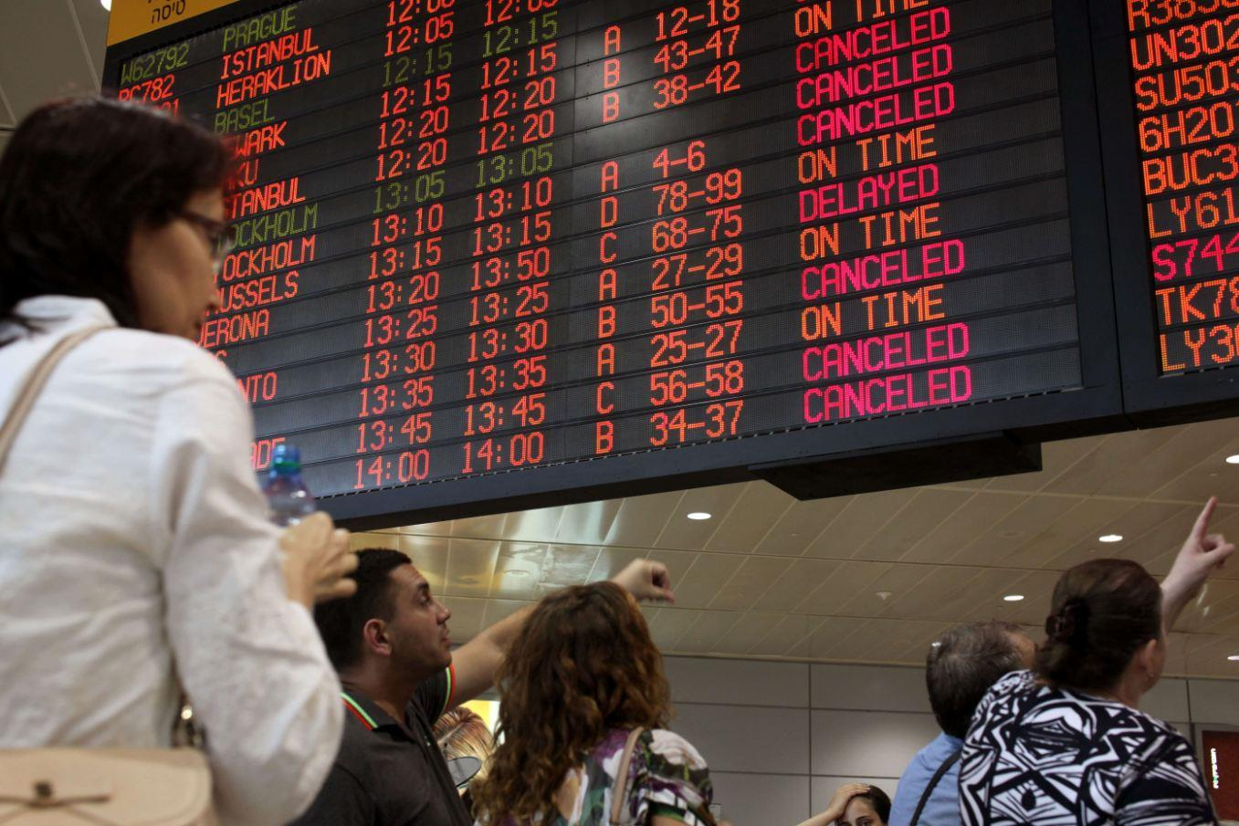 Israel Flight Ban Leaves Travelers Scrambling