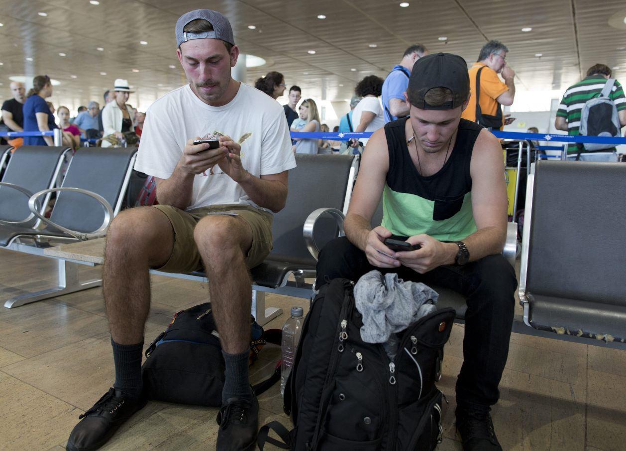US passenger in Ben Gurion Airport