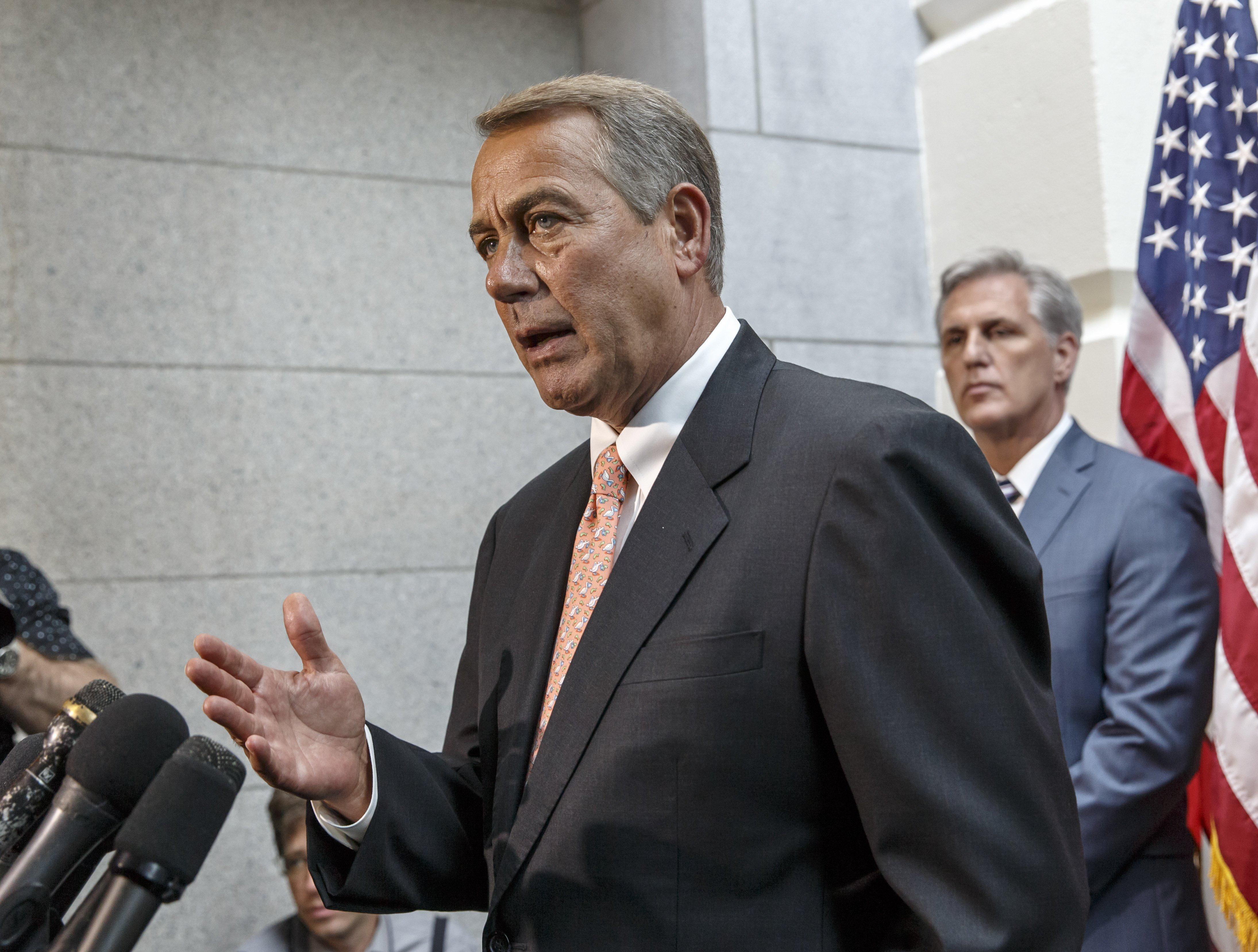Image: Kevin McCarthy, John Boehner