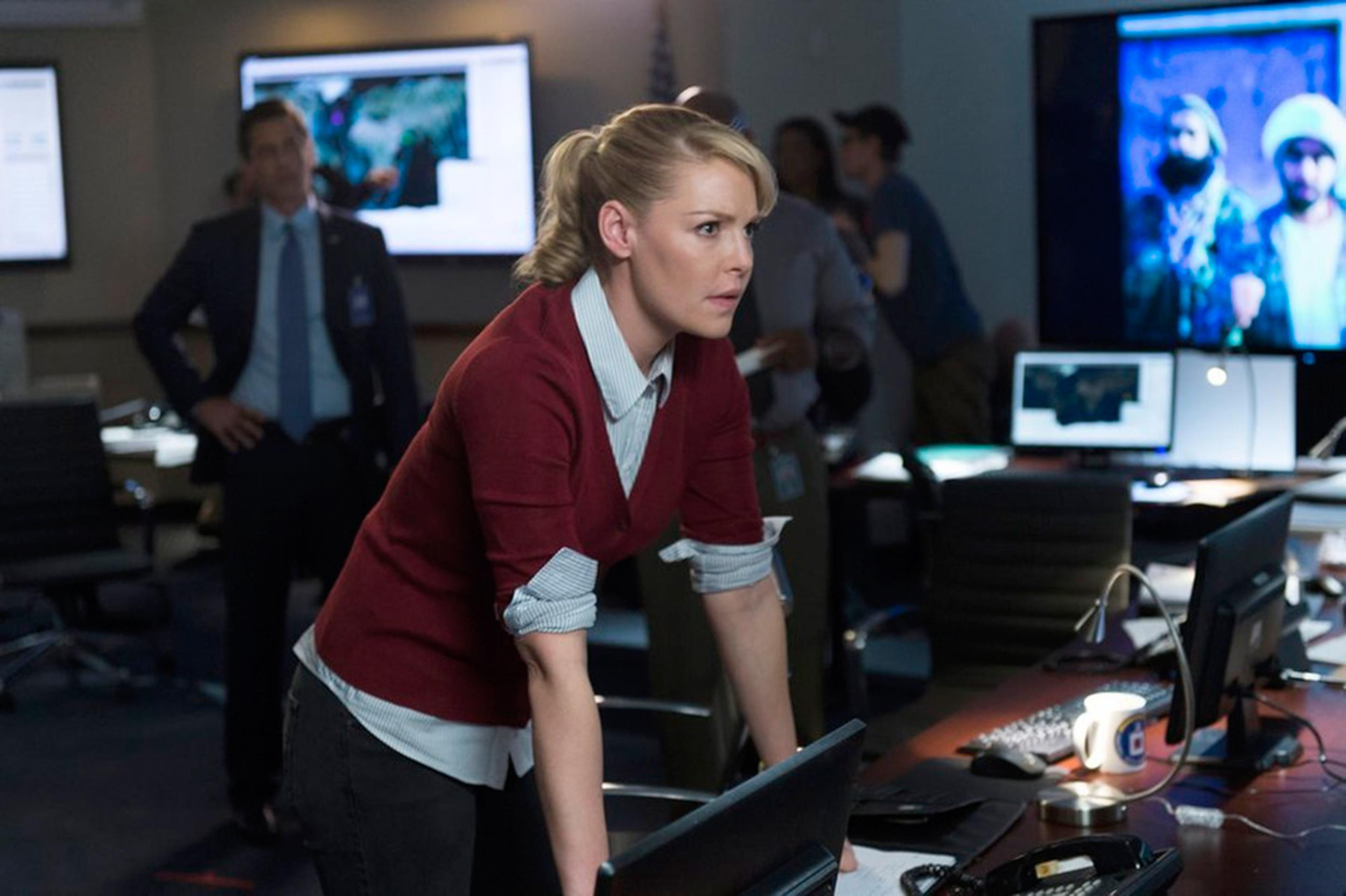Image: Katherine Heigl as Charleston Tucker in 'State of Affairs'