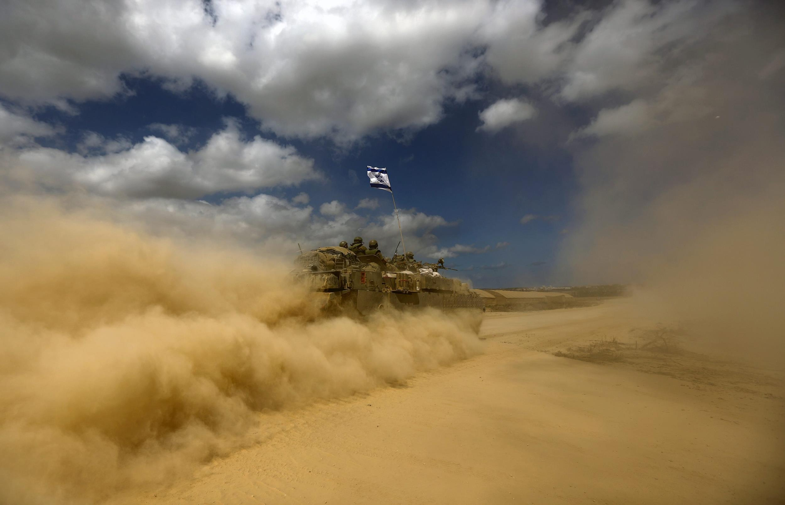 Image: Israel launches offensive in Gaza
