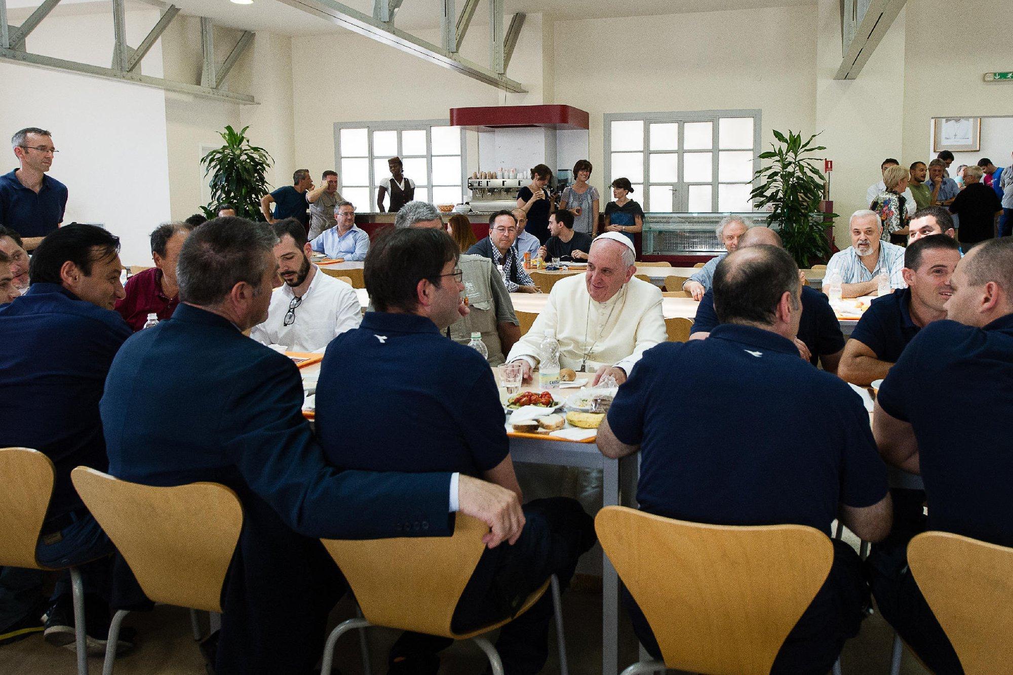 Image:  Meriam Ibrahim, Pope Francis, Daniel Wani, Martin, Maya