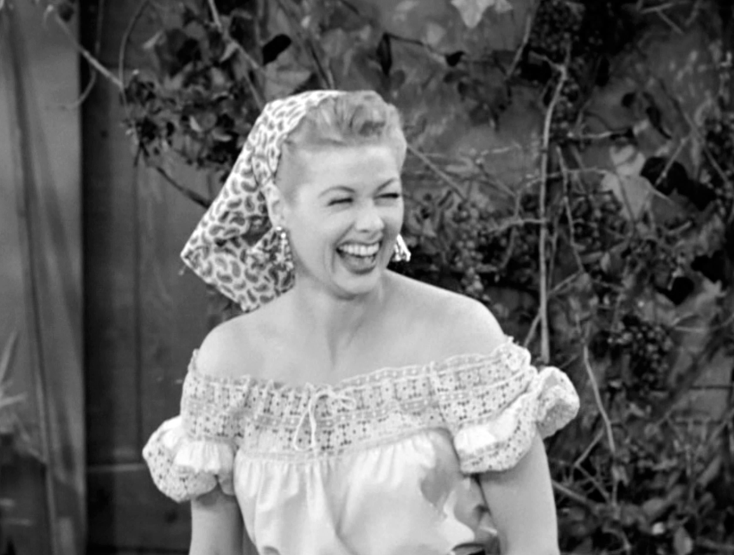 Image: Lucille Ball Laughs In 'I Love Lucy'
