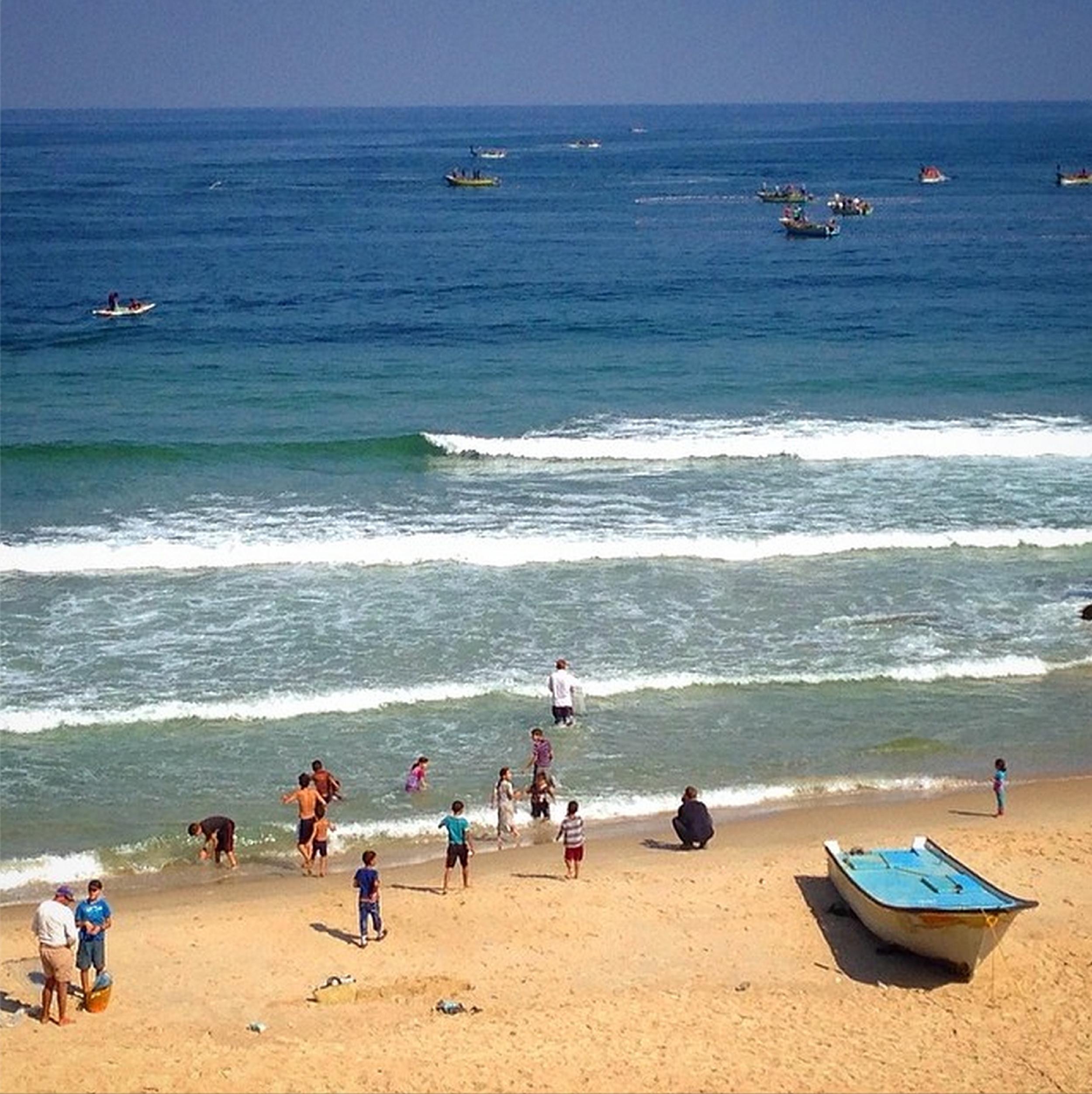Gaza Beach.