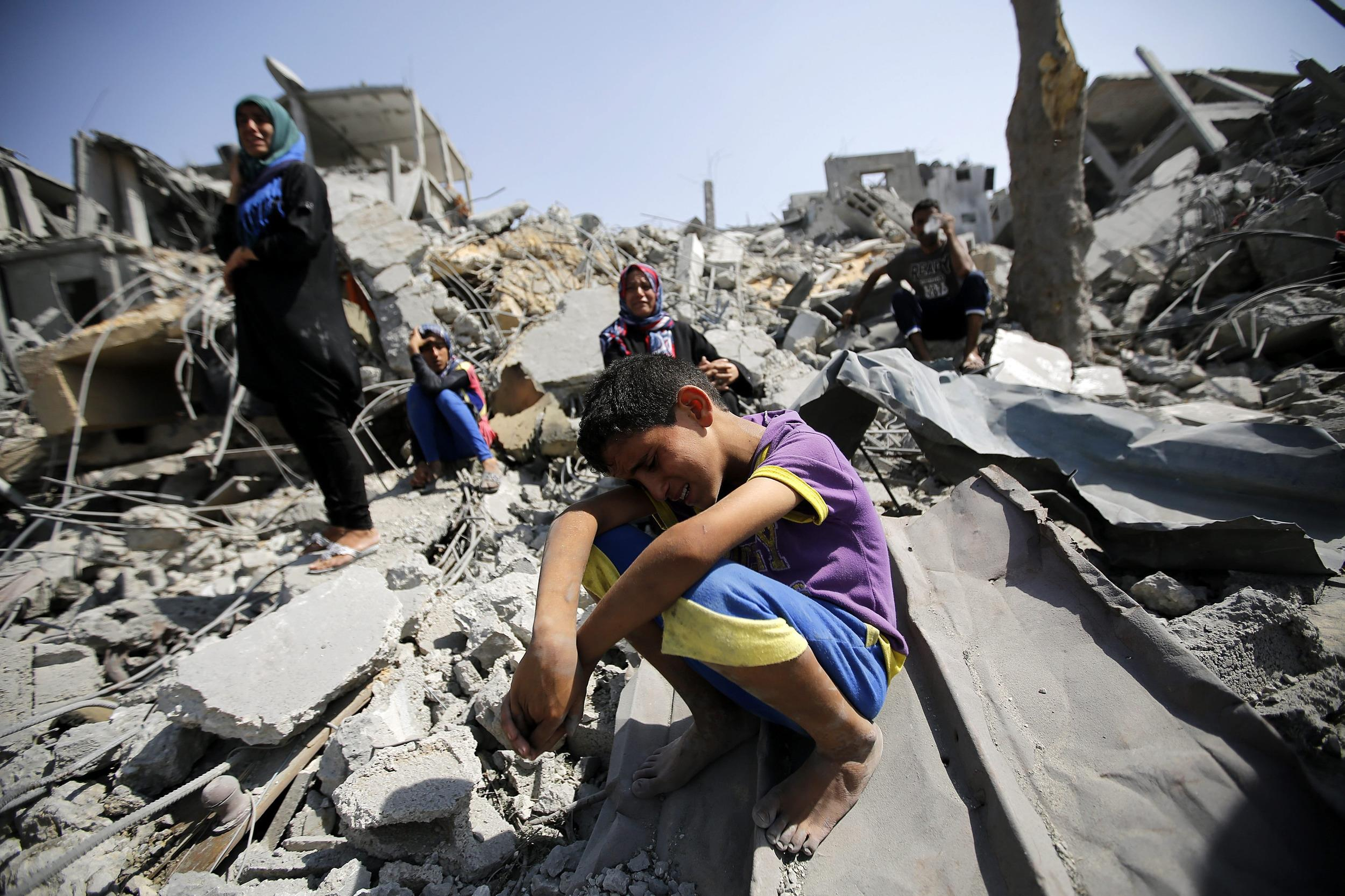 Image: Gaza ceasefire breaks down, dozens killed