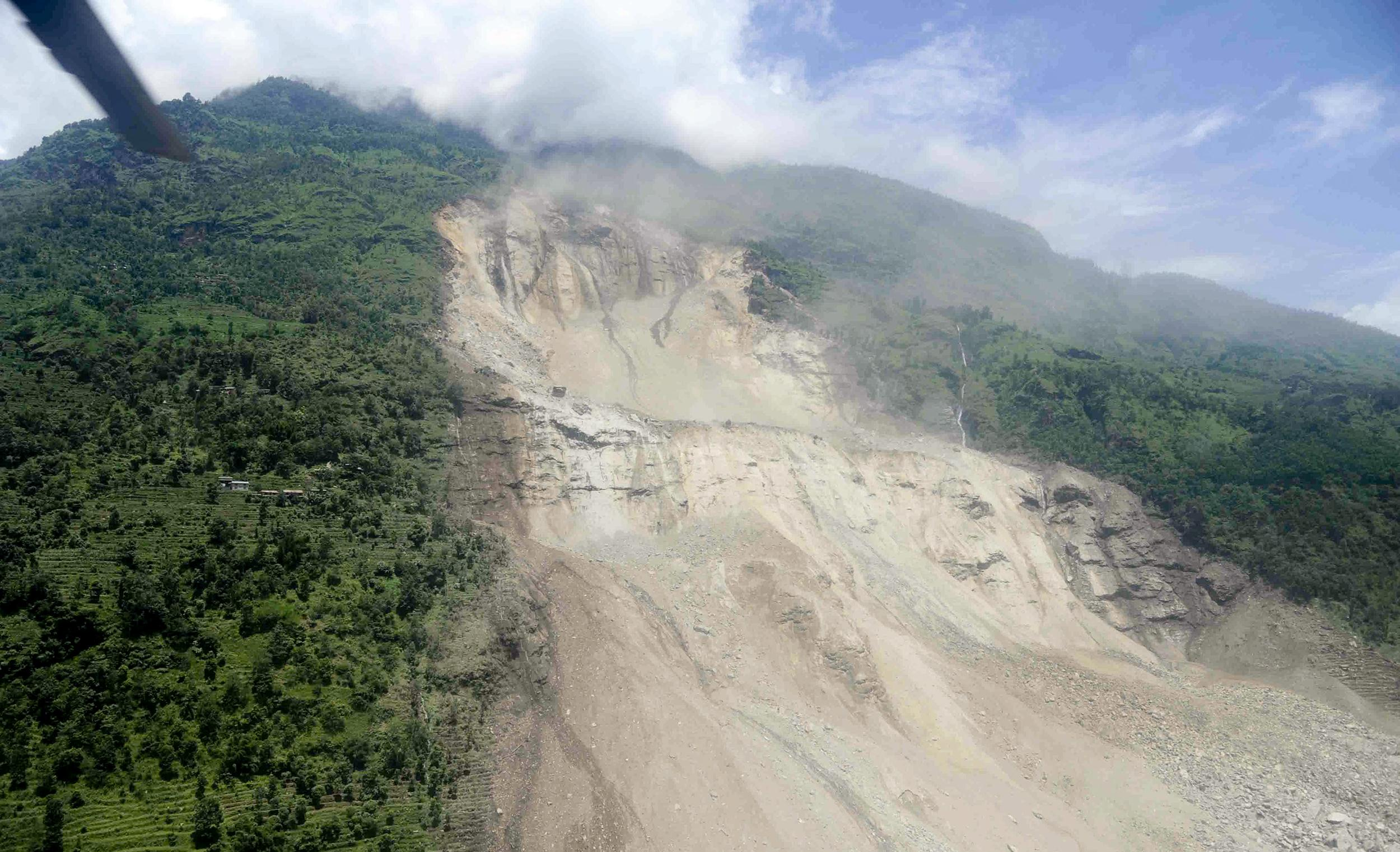 Forthcoming monsoon rains may complicate disaster relief for Monsoon de