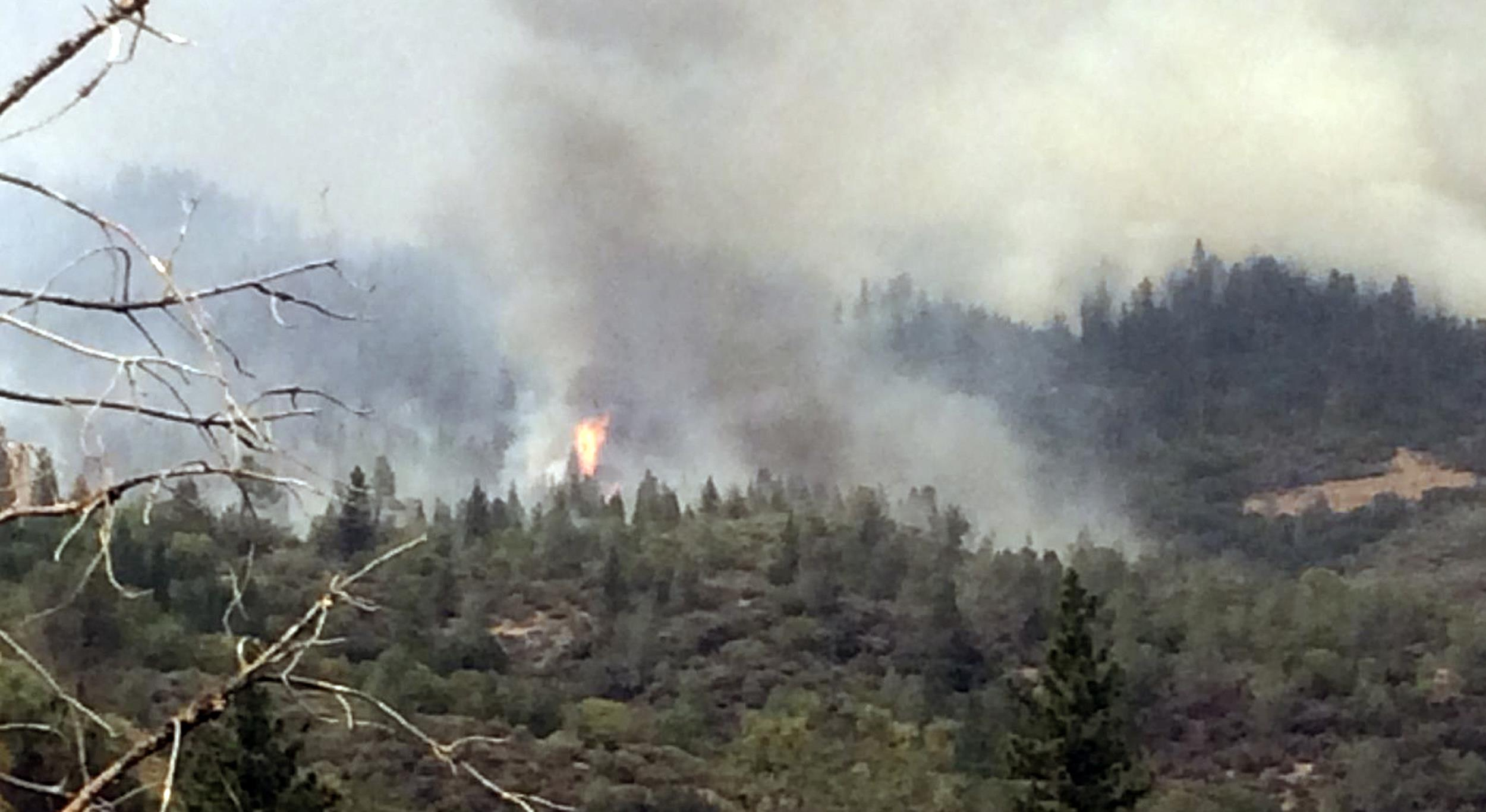French Fire on Aug. 3, in Madera, Calif.