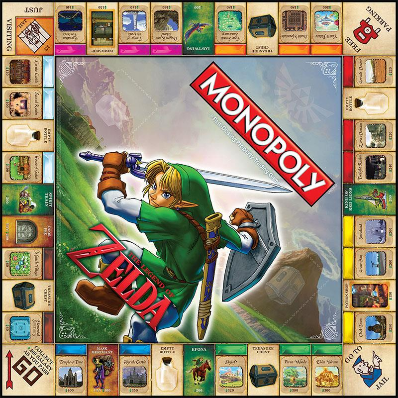 Hyrule For Sale Legend Of Zelda Monopoly Coming In Fall