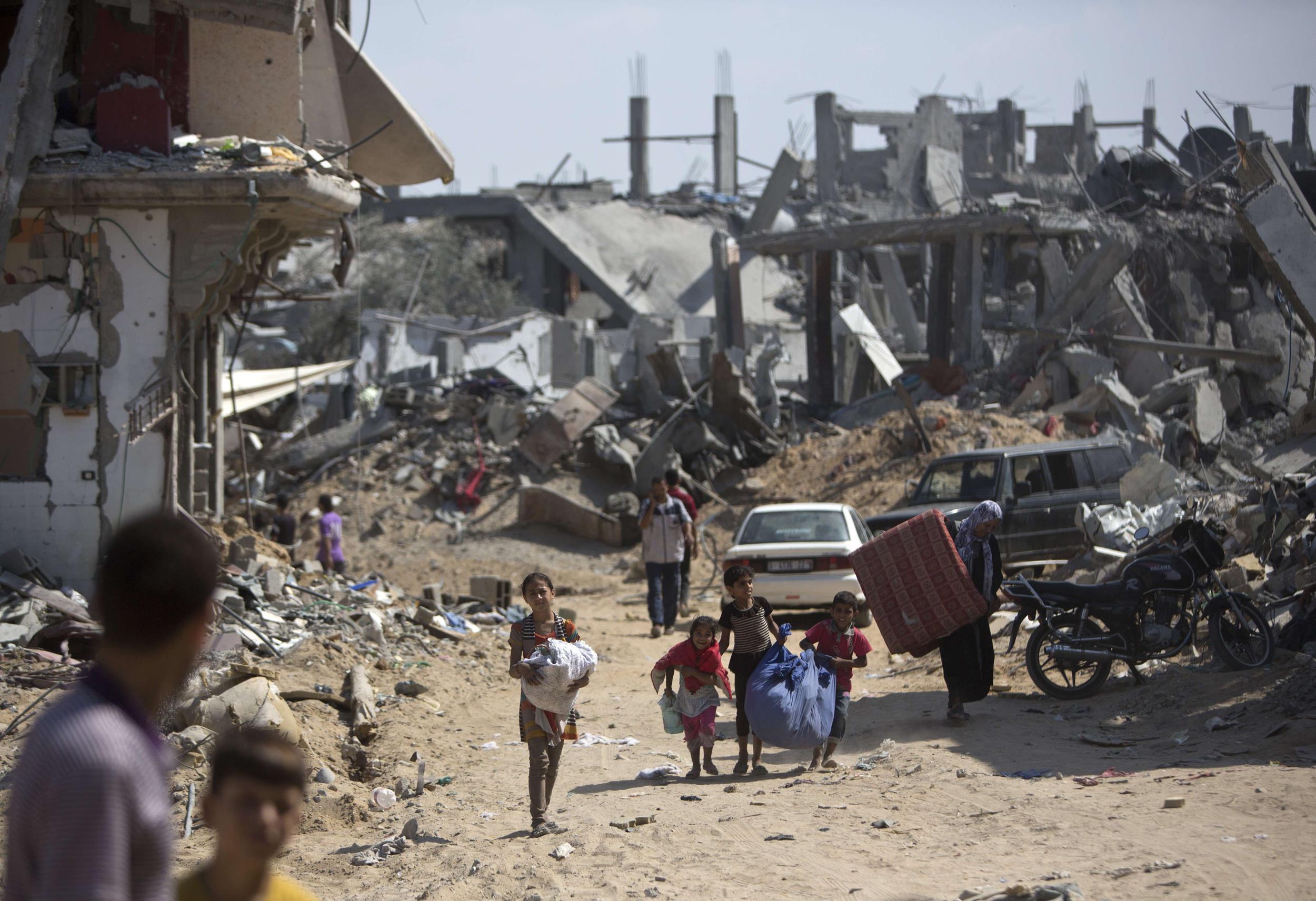 Image: PALESTINIANS-ISRAEL-CONFLICT-GAZA