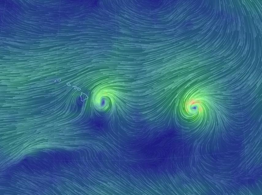 Image: Wind map