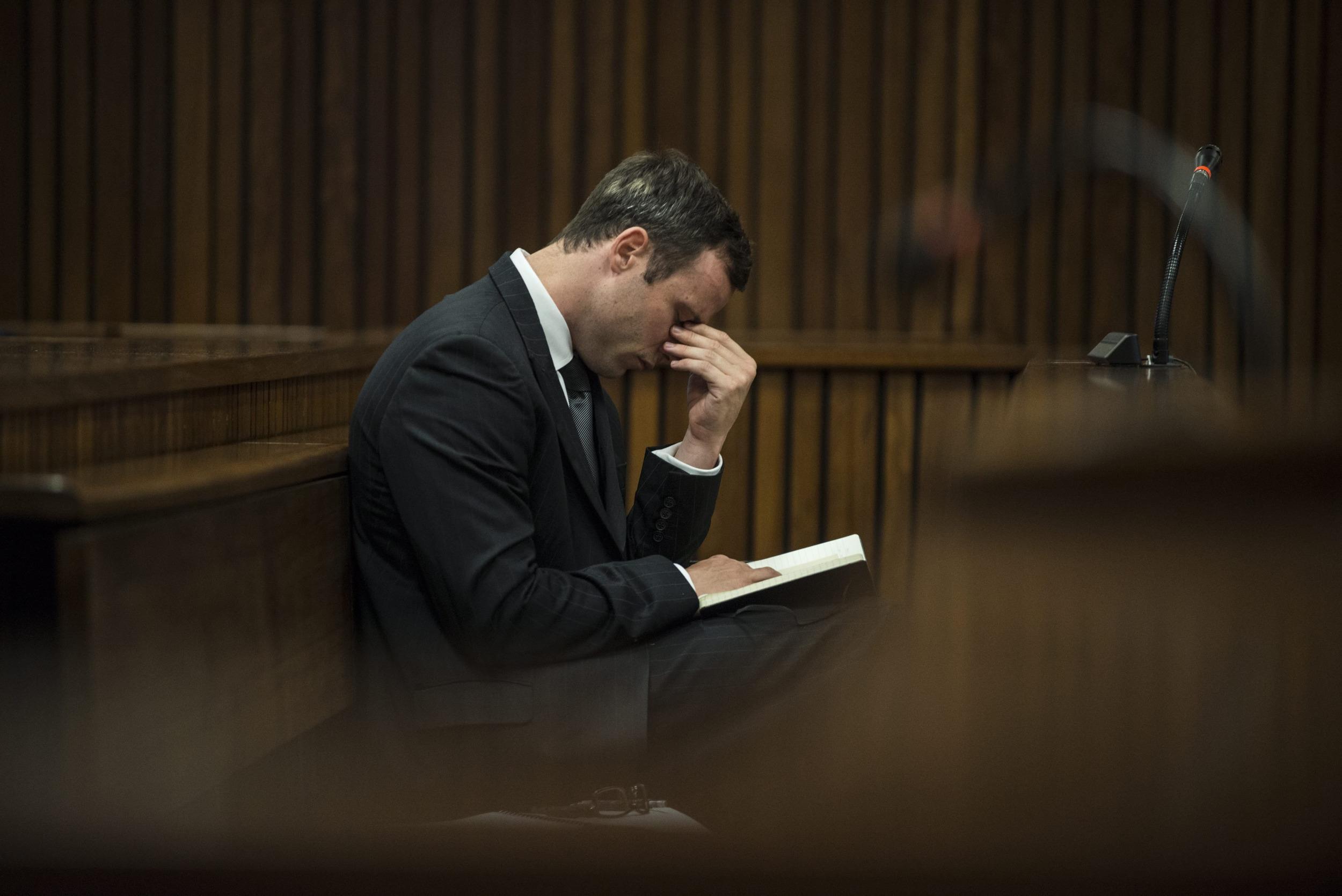 Image: Oscar Pistorius trial
