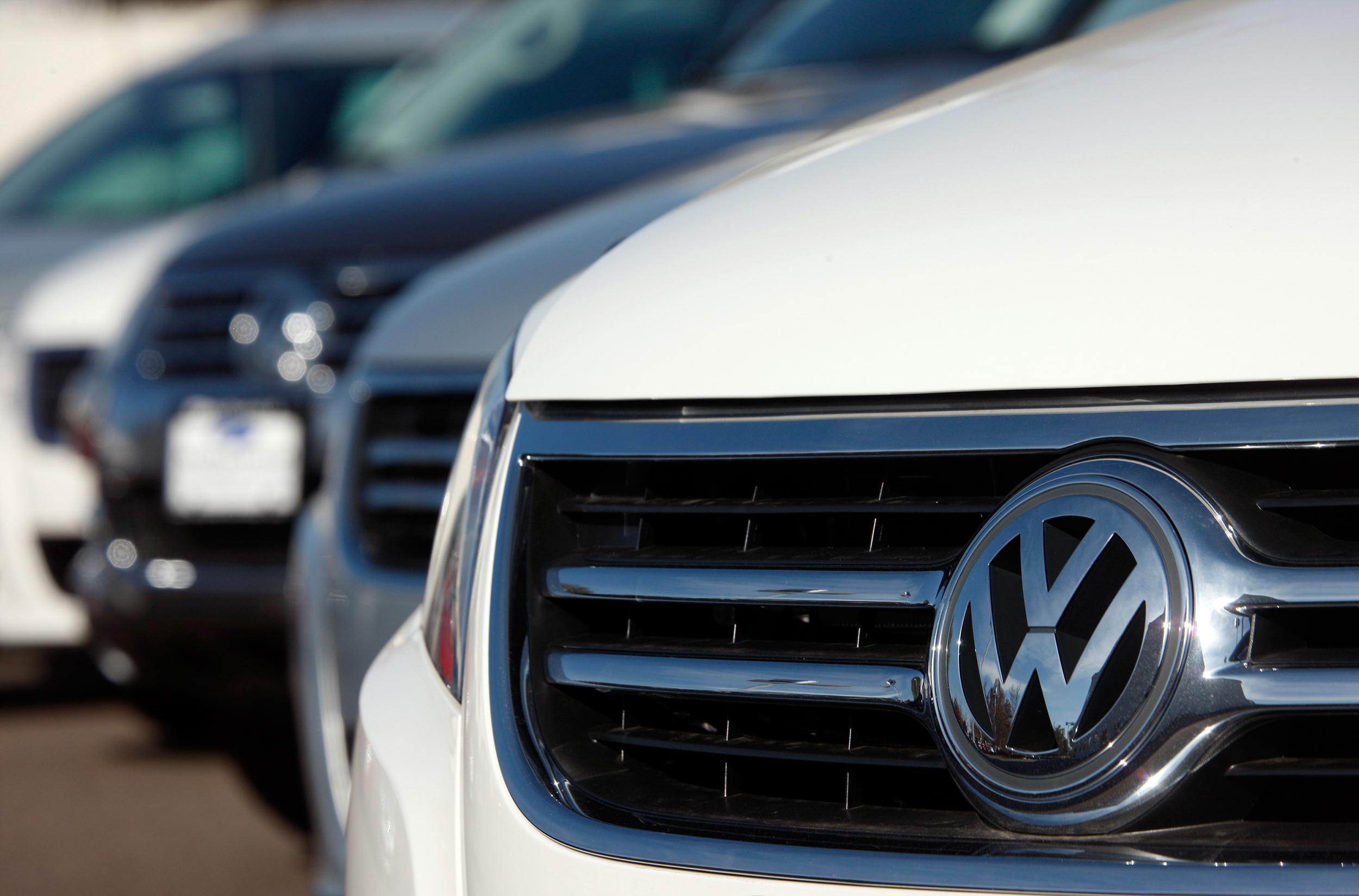 Image: A 2009 Volkswagen Tiguan
