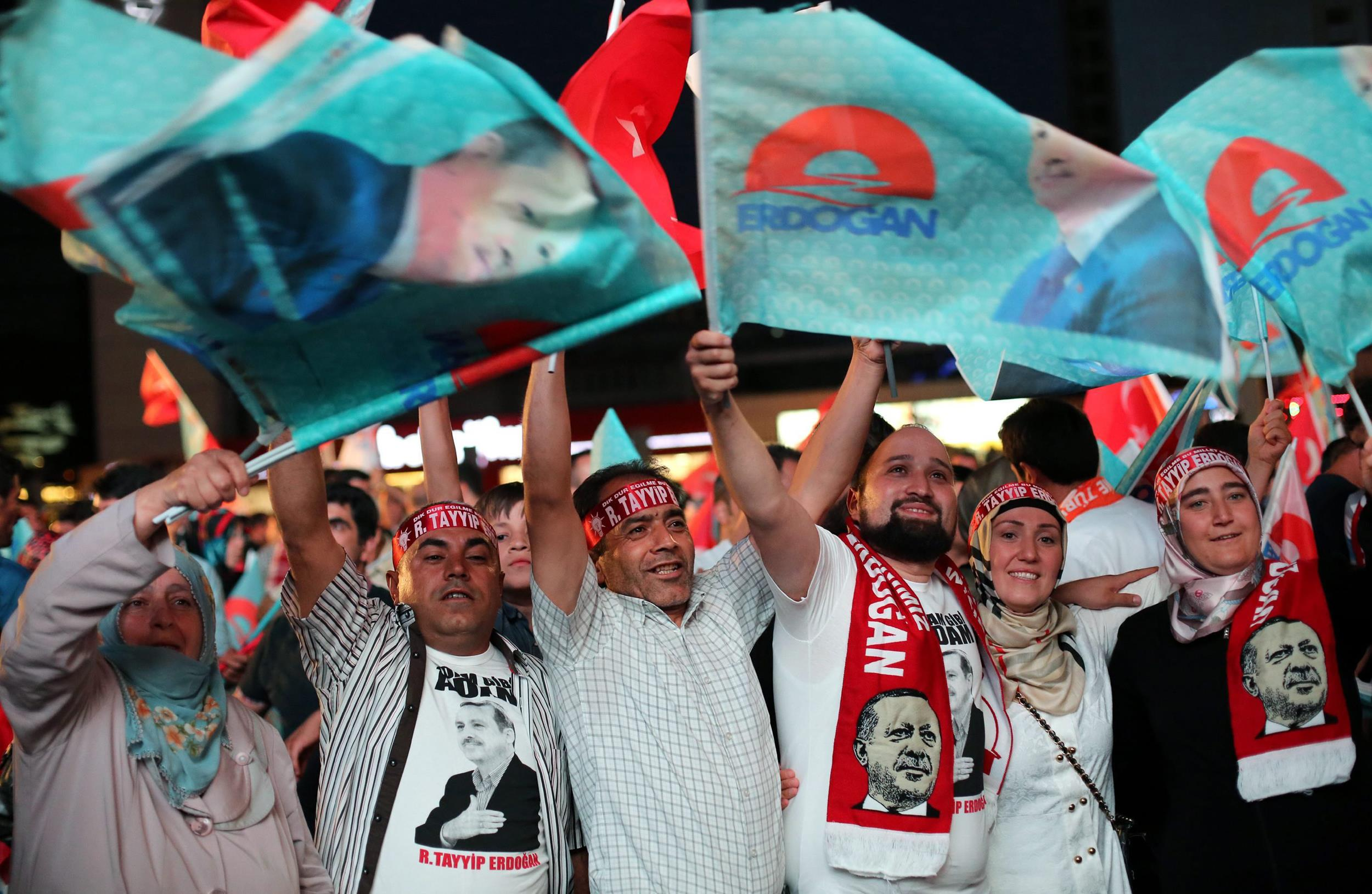 Image: Presidental electons in Turkey