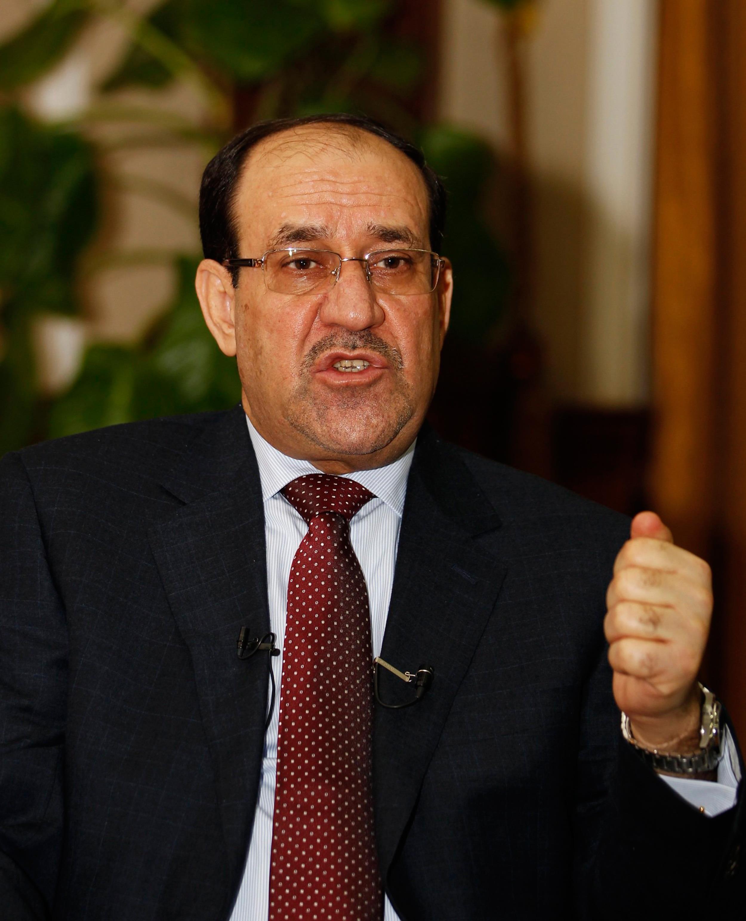 Image: Iraq's Prime Minister al-Maliki