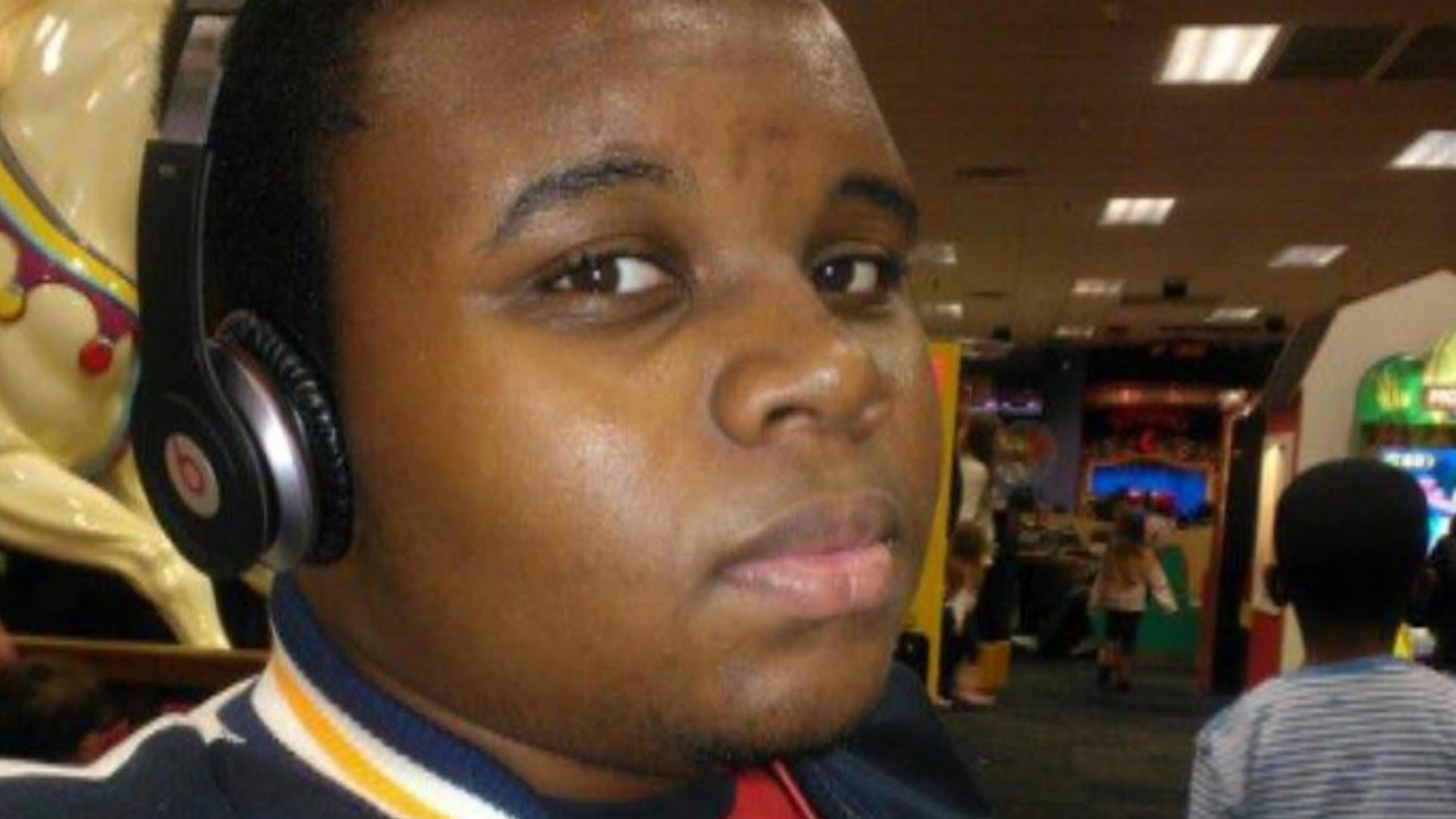 Image: Michael Brown, 18, was killed in Ferguson, Mo., near St. Louis on Saturday, Aug. 9.