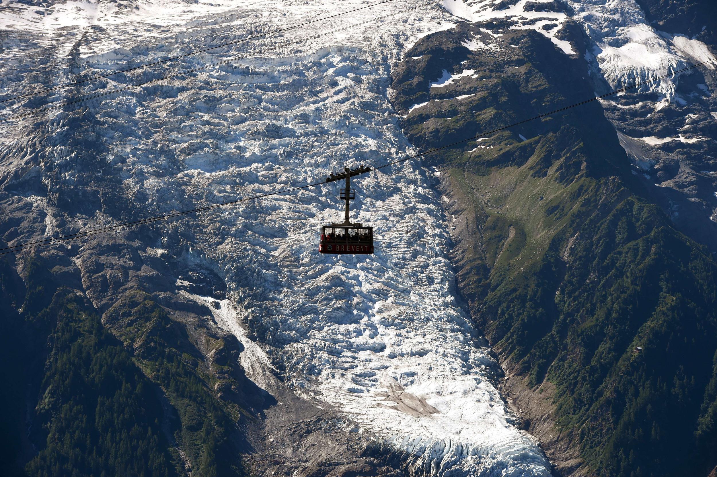 chamonix glacier case study