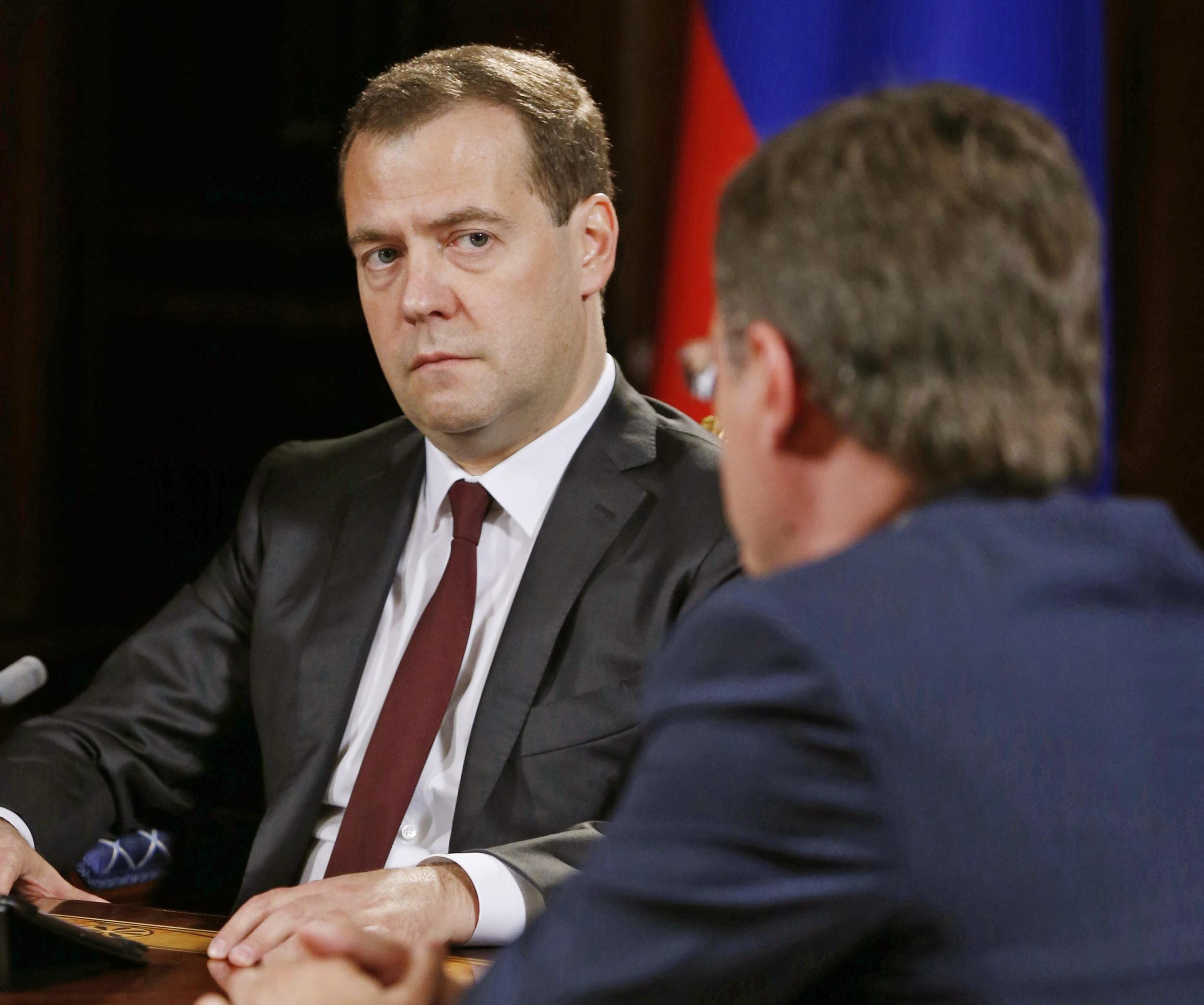 Image: Russian Prime Minister Dmitry Medvedev