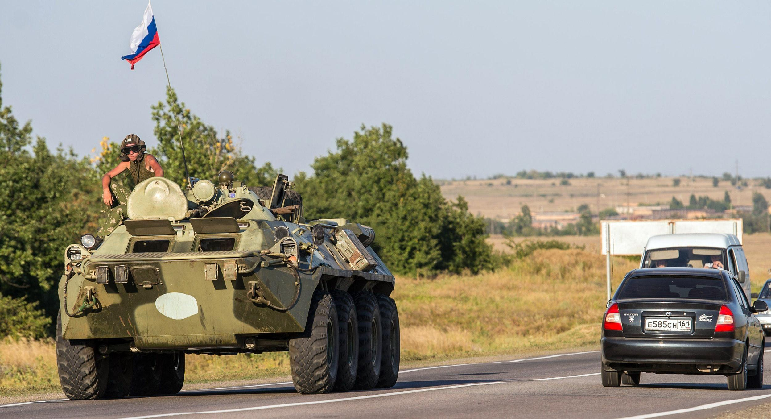 Image: RUSSIA-UKRAINE-CRISIS-MILITARY