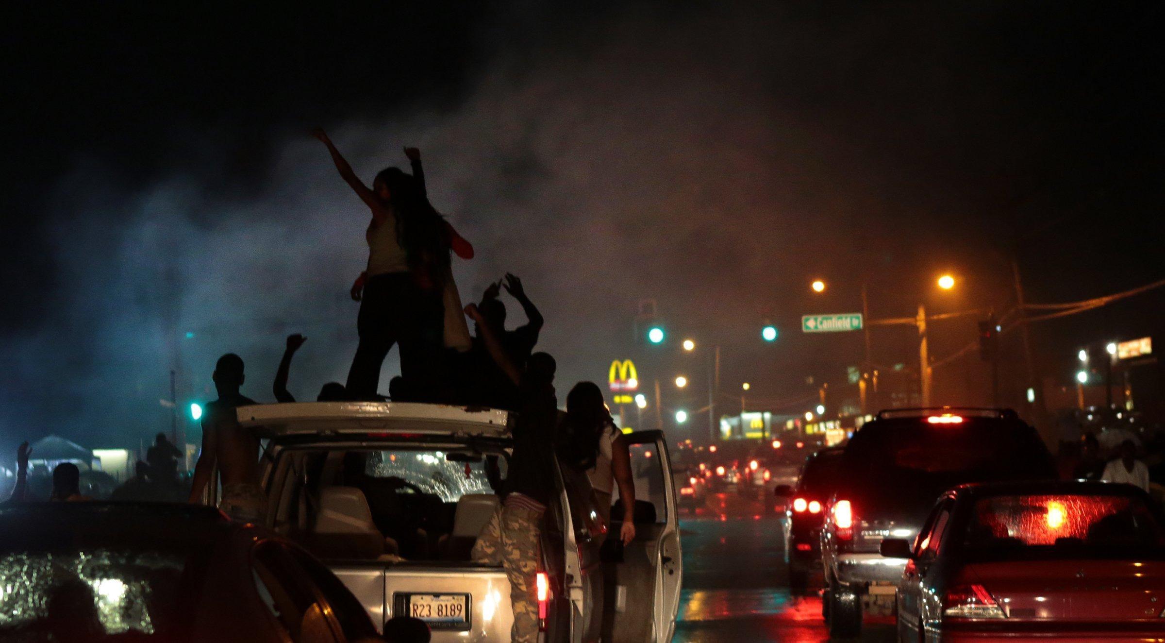 Michael Brown Killing: Police in Ferguson Fire Tear Gas ...
