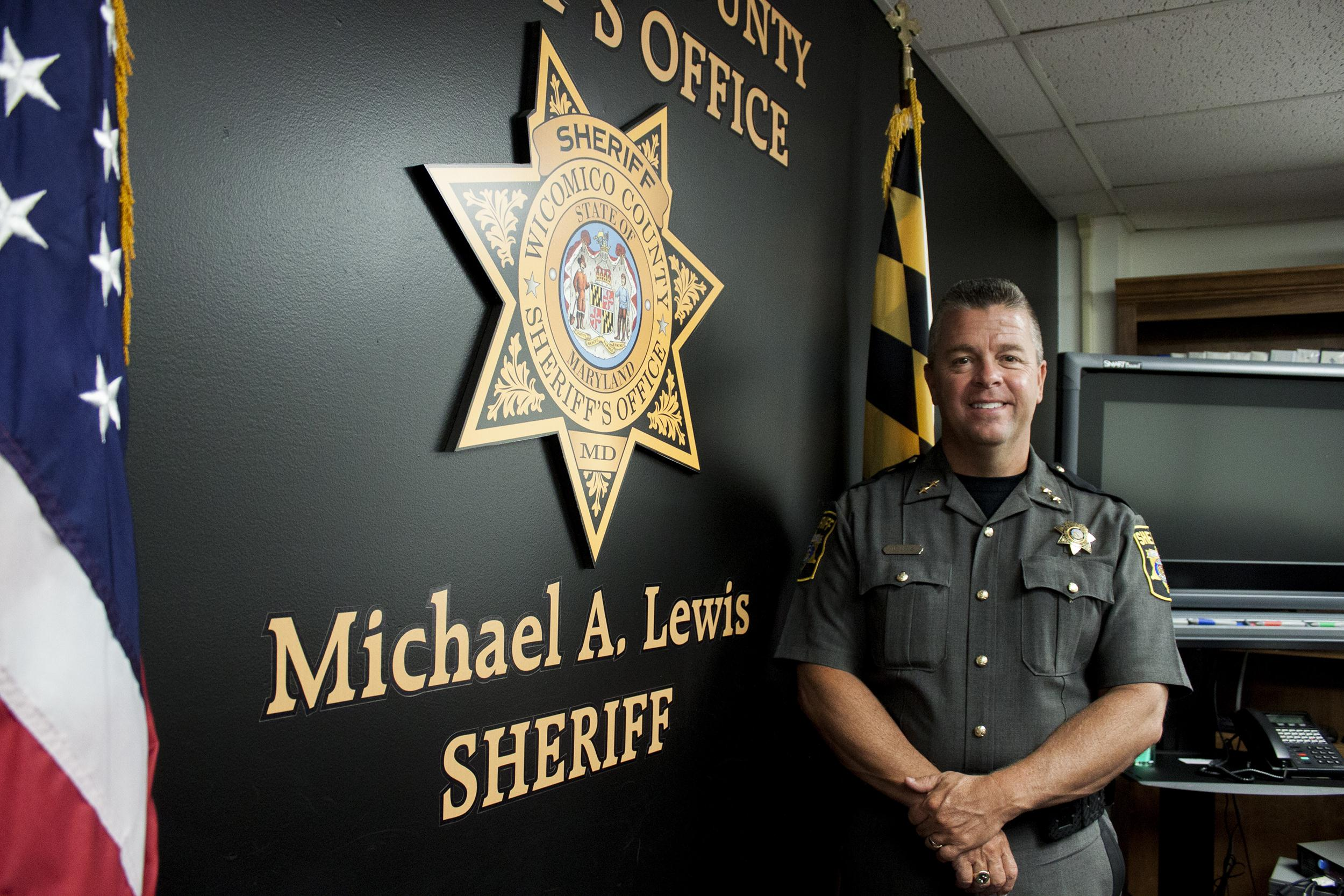 IMAGE: Sheriff Mike Lewis, Wicomico County, Md.