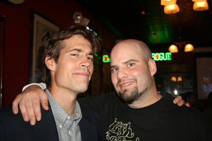James Foley is seen with his friend Thomas Durkin