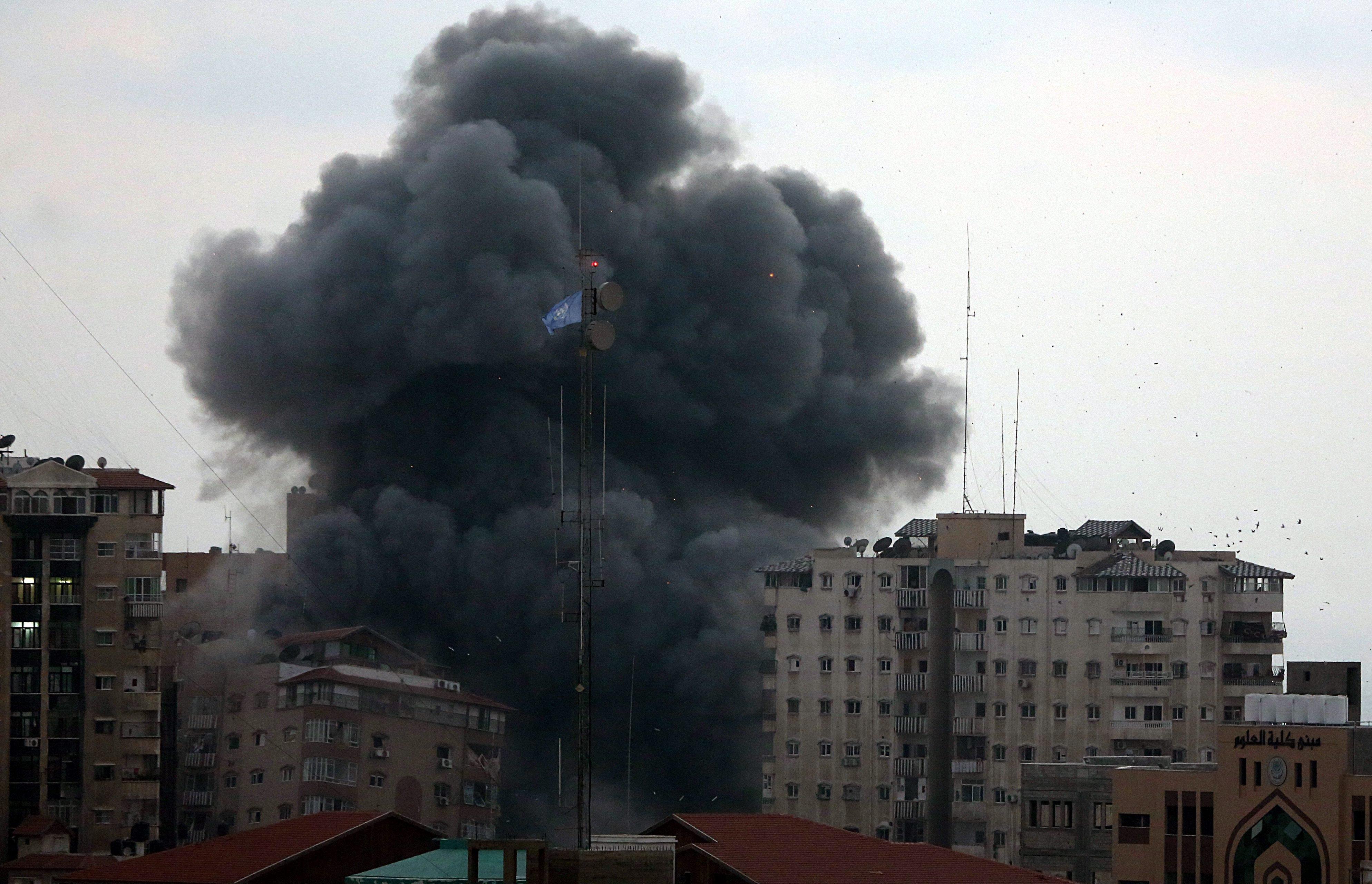 Image: Israel-Gaza violence escalates