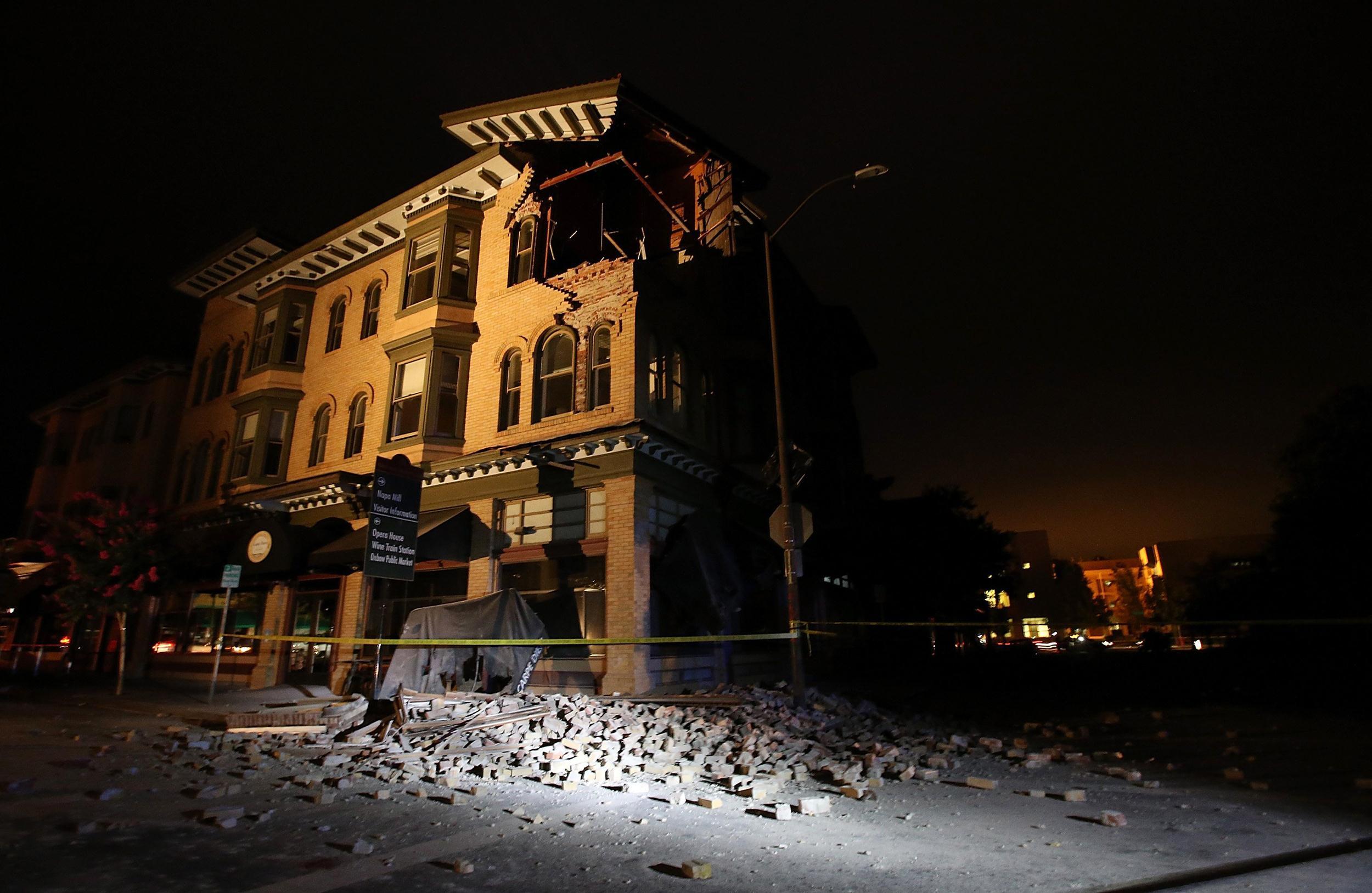 Image: 6.0 Earthquake Rattles Northern California