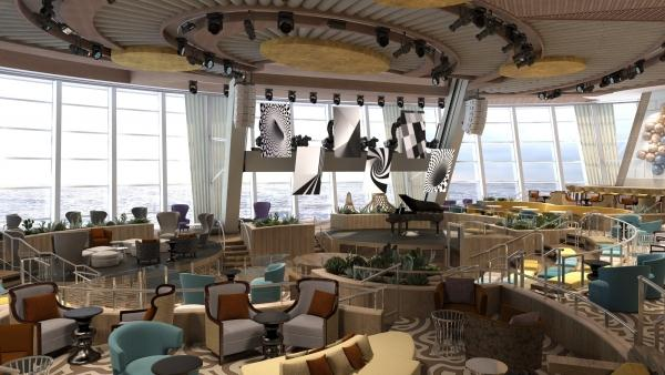 Image: Rendering of the Bionic Bar onboard Quantum of the Seas