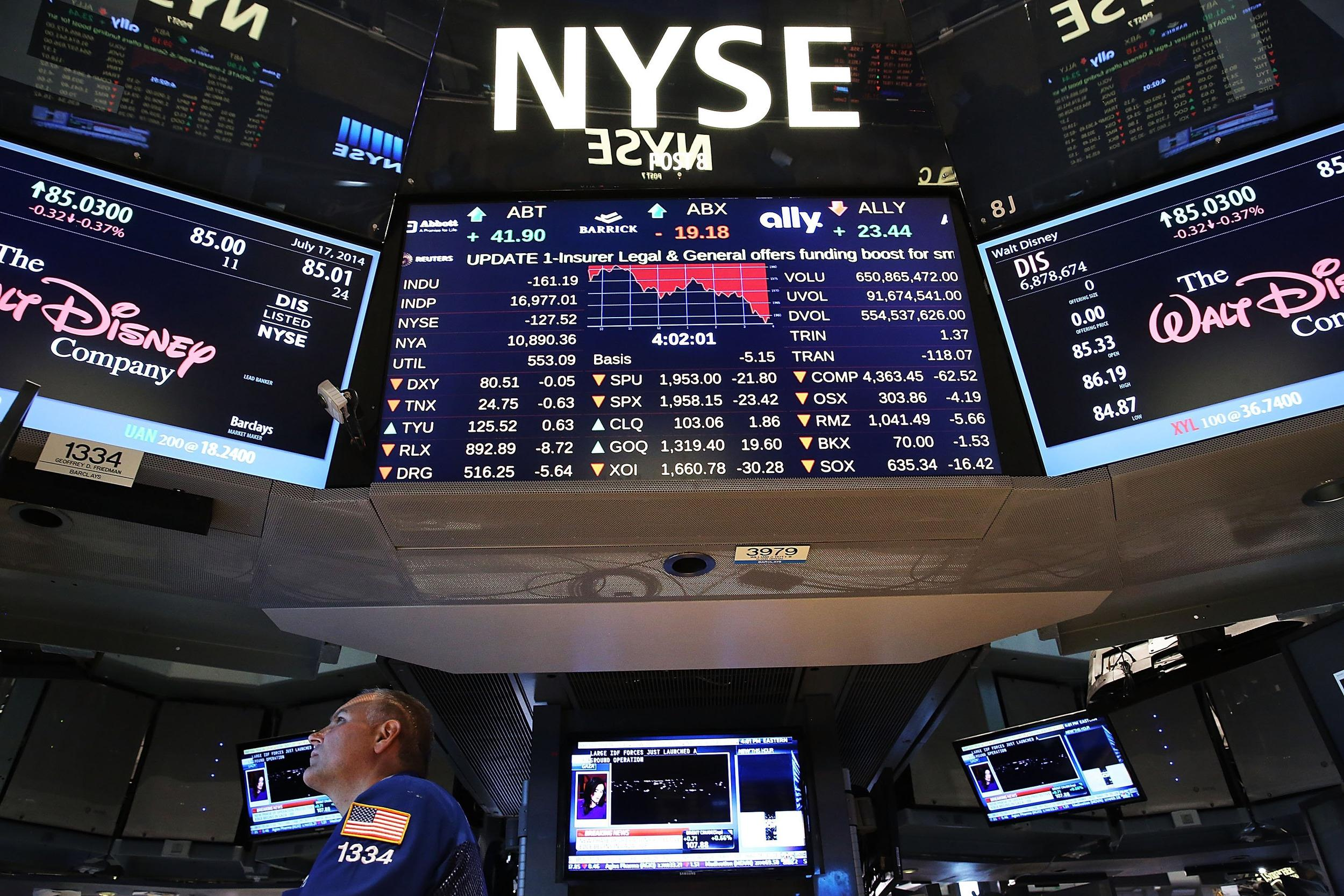 The Dow and S&P 500 both hit all-time highs during trading at the New York Stock Exchange on Tuesday.