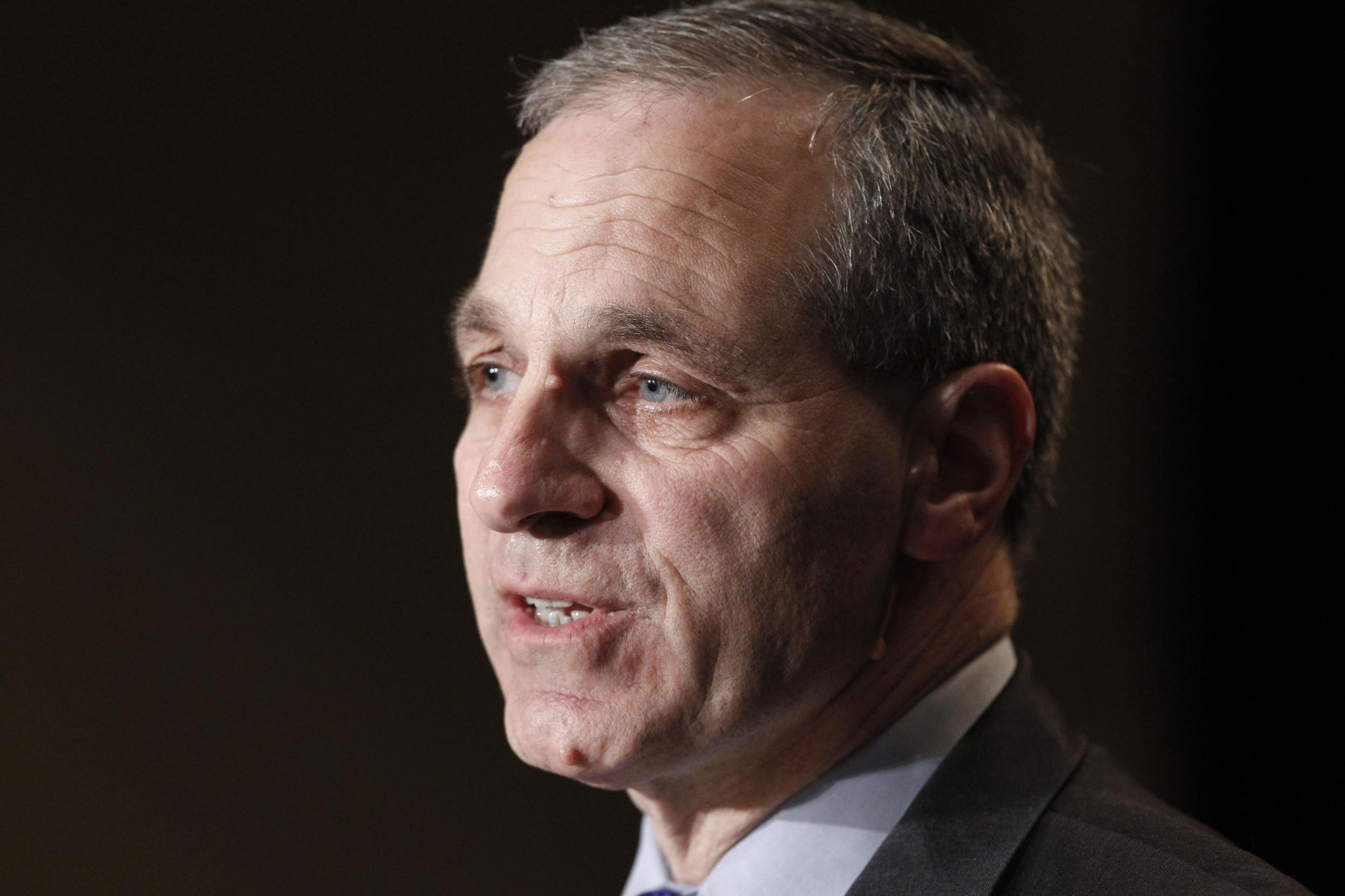 Image: Former FBI director Louis Freeh in Nov. 21, 2011.