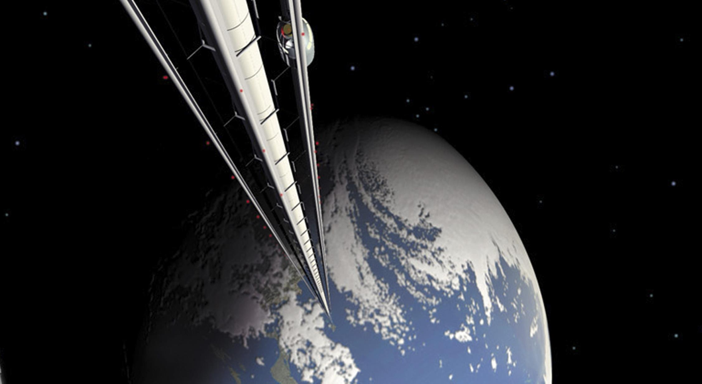 Space Elevator Wallpaper