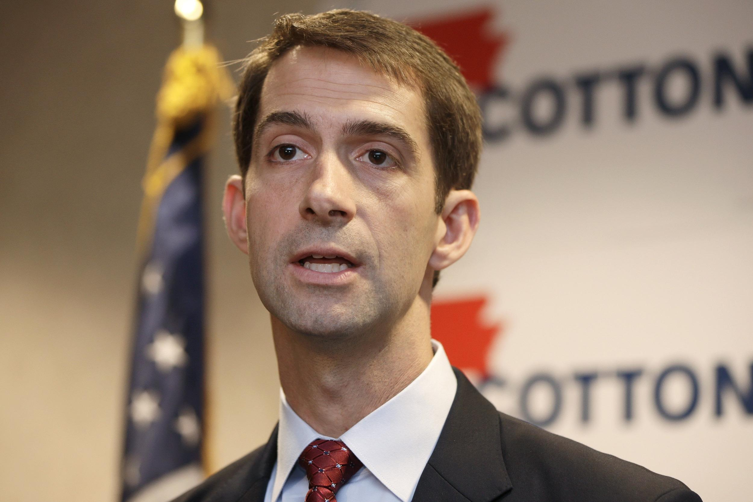 Image: Tom Cotton