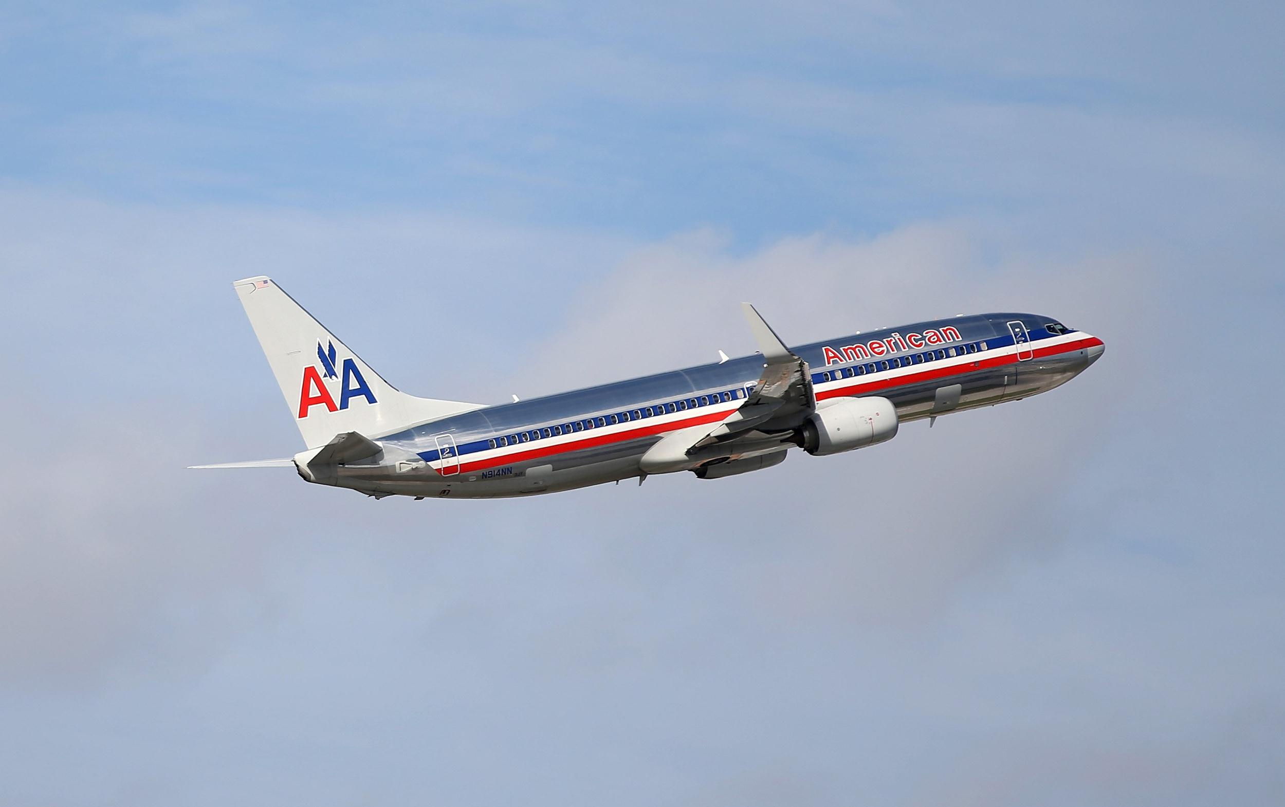 Image: An American Airlines plane