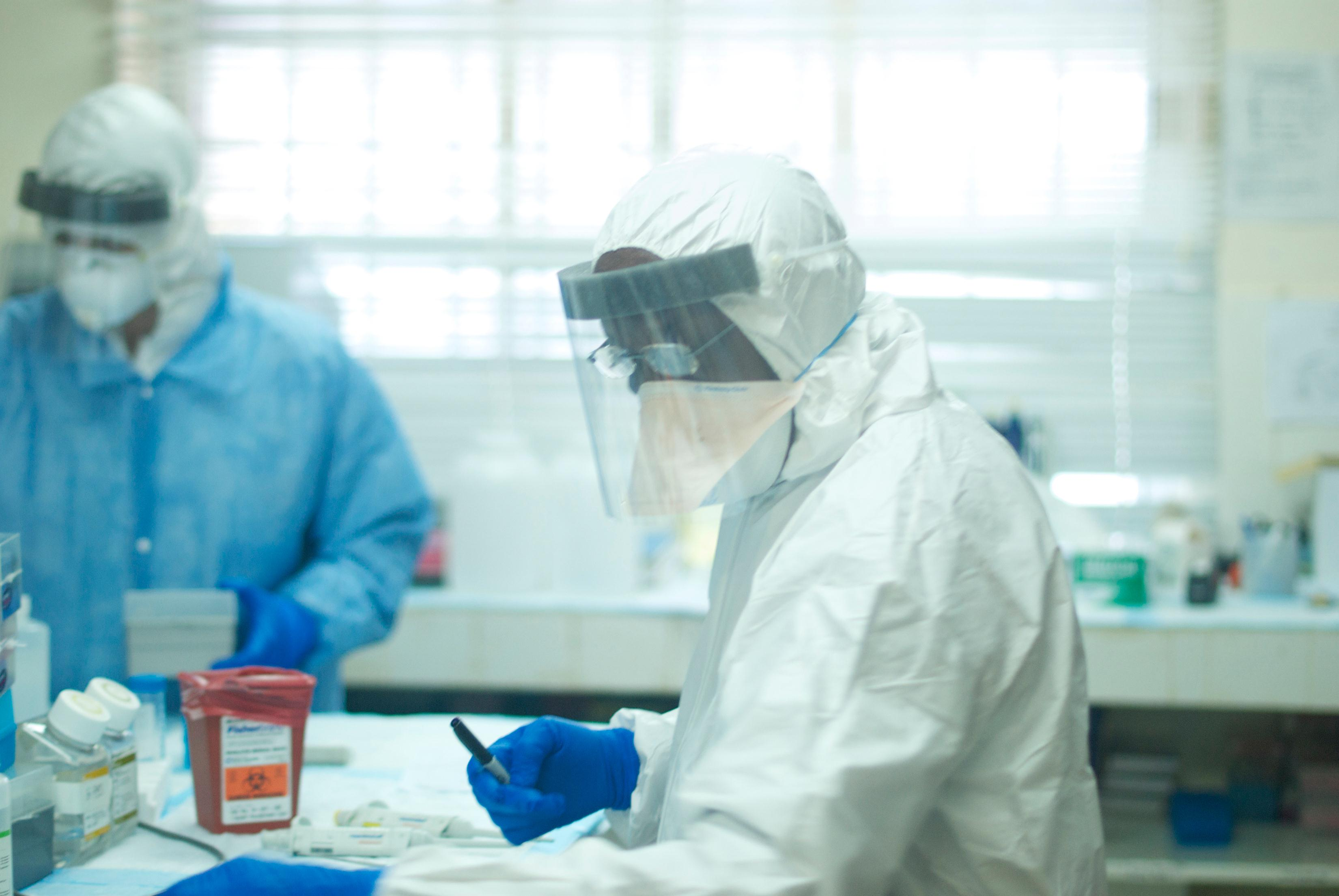 Image: Augustine Goba, laboratory director at Kenema Government Hospital Lassa fever laboratory, diagnosed the first case of Ebola in Sierra Leone
