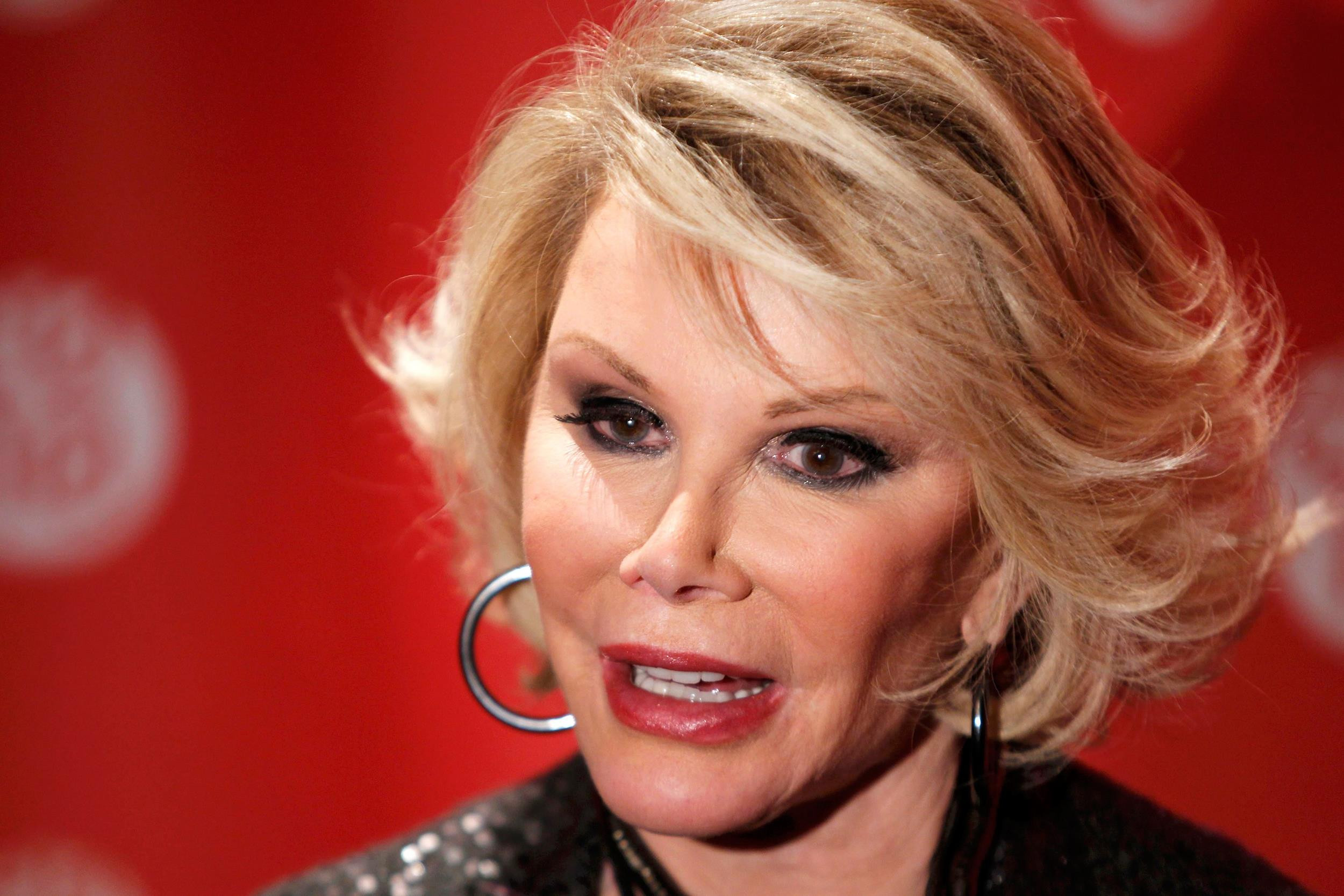 Joan Rivers' Family: 'Keeping Our Fingers Crossed'