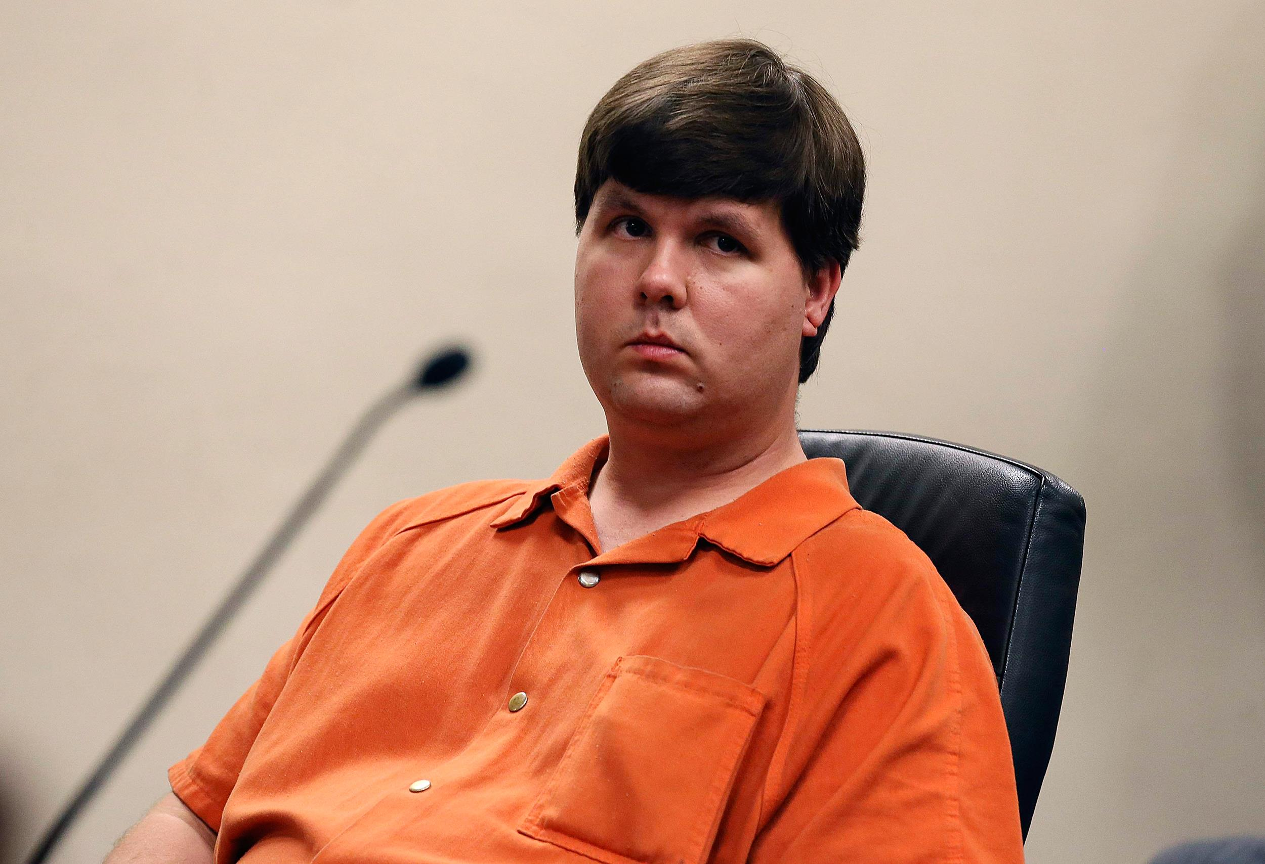 Image: Justin Ross Harris sits in Cobb County Magistrate Court in Marietta