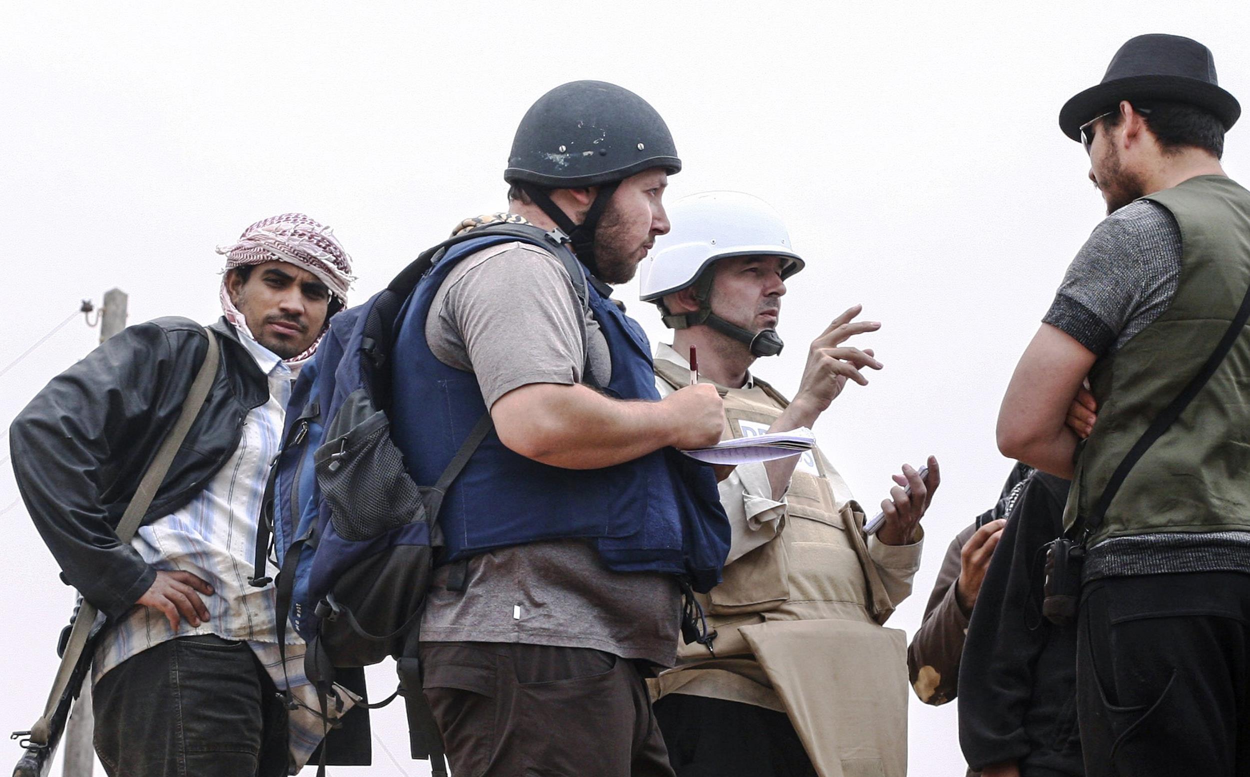Image: American journalist Steven Sotloff