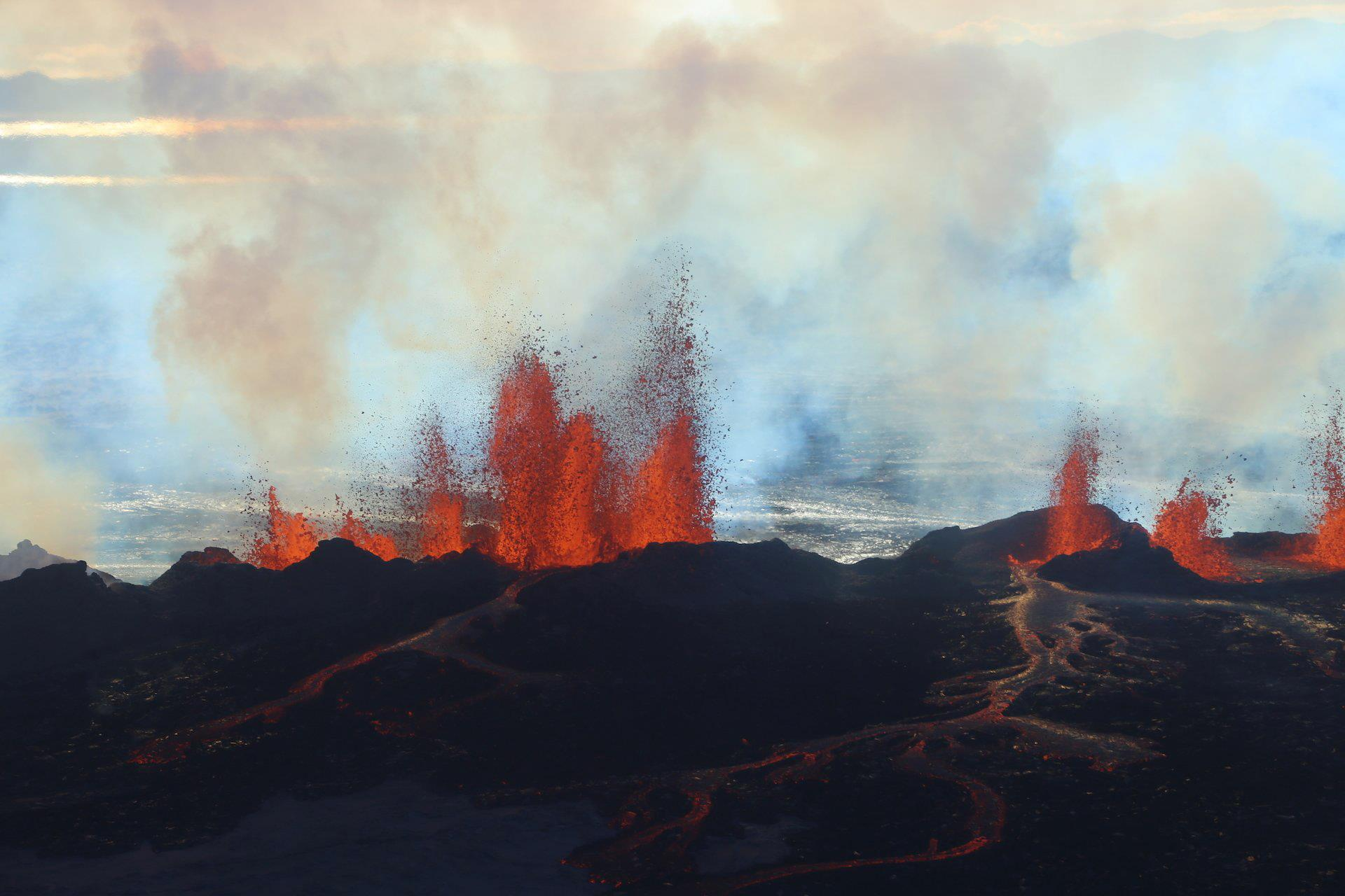 Image: Bardarbunga volcano in Iceland