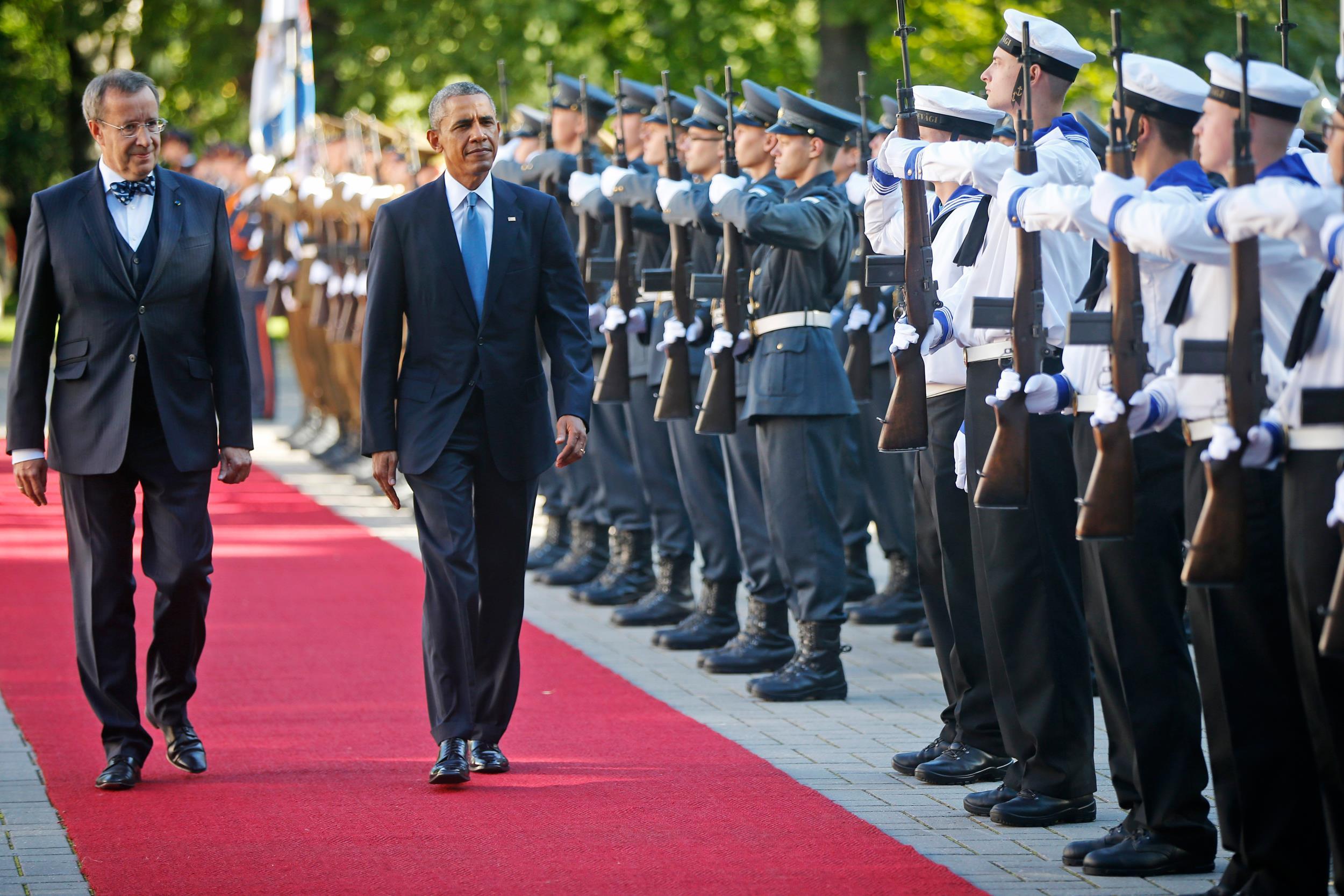 Image: Barack Obama, Toomas Hendrik Ilves
