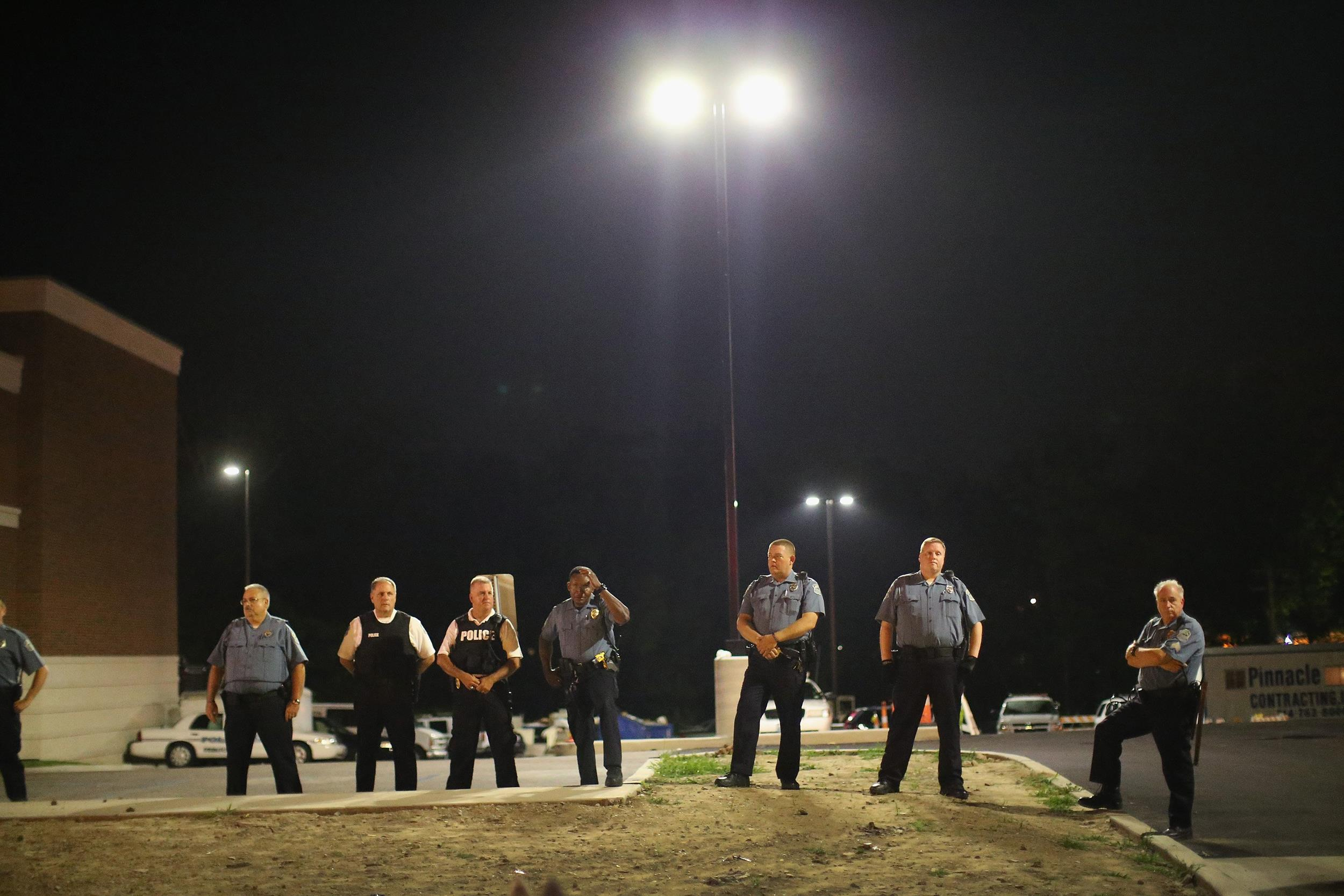 Image: Ferguson police