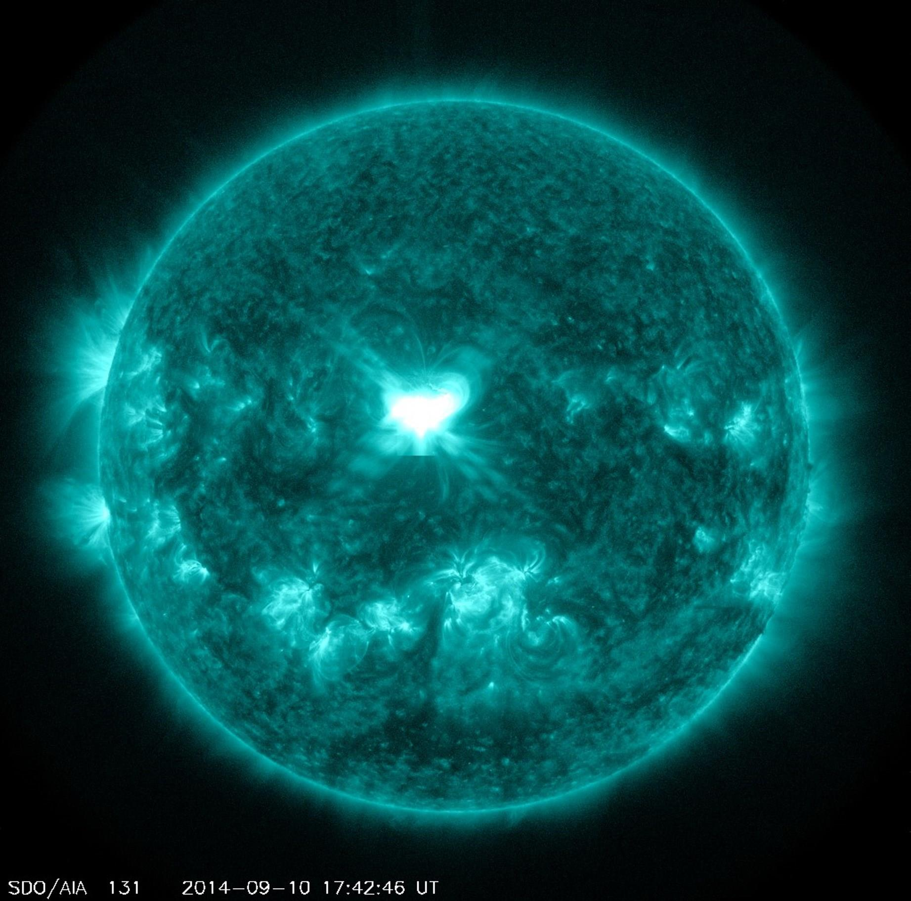 solar storm warning today - photo #14