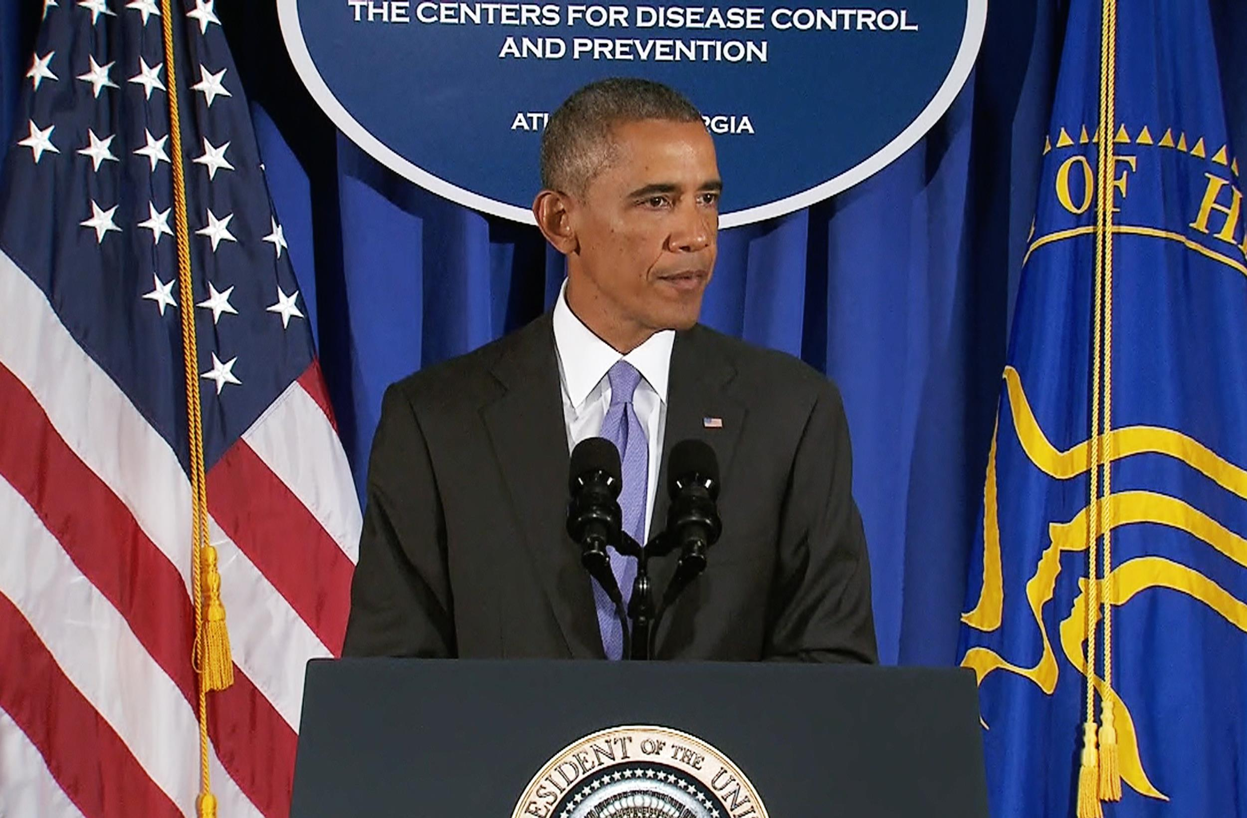 Obama announces 'Operation United Assistance' to confront Ebola